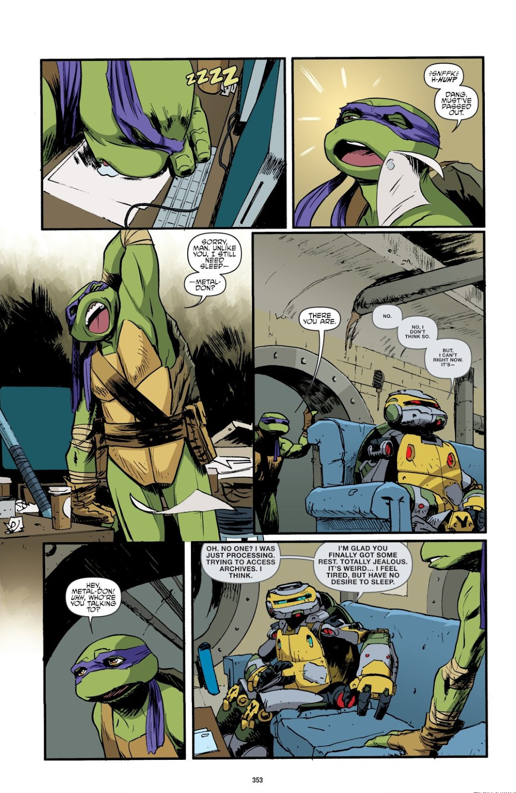 Read online Teenage Mutant Ninja Turtles: The IDW Collection comic -  Issue # TPB 8 (Part 4) - 51