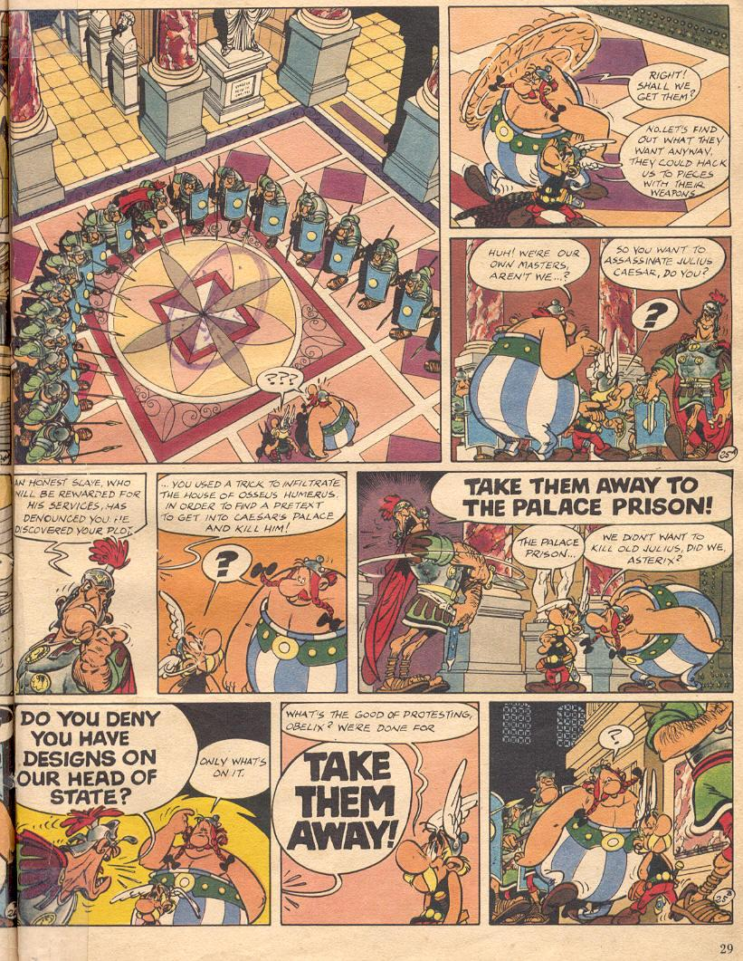 Read online Asterix comic -  Issue #18 - 27