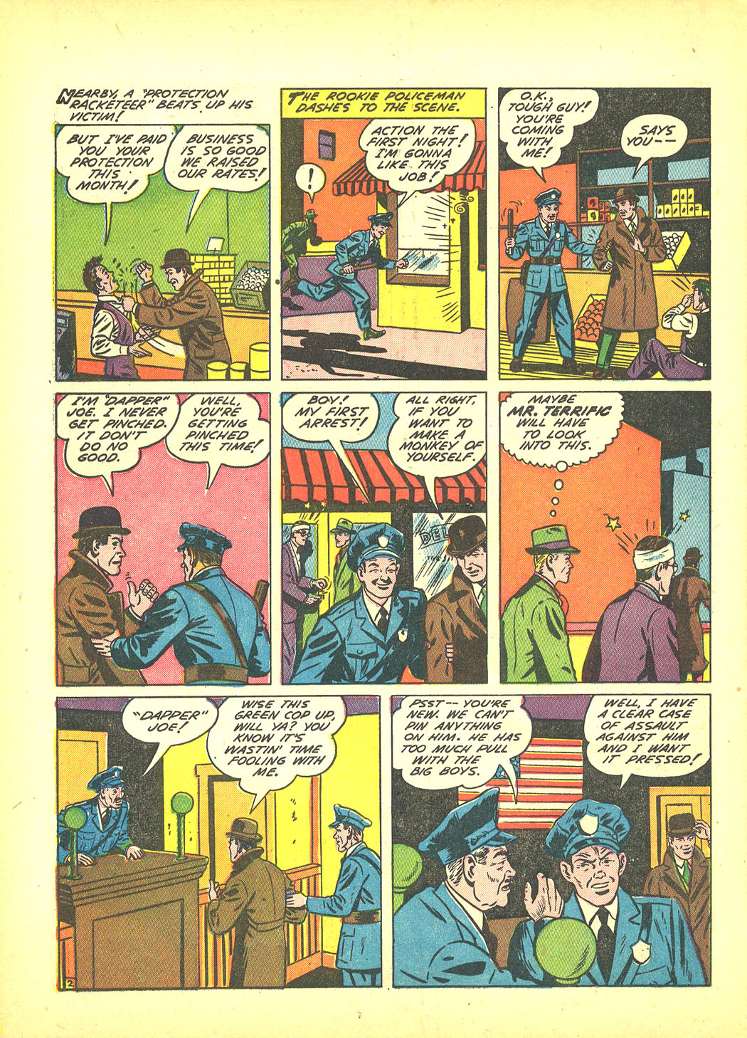 Read online Sensation (Mystery) Comics comic -  Issue #4 - 26