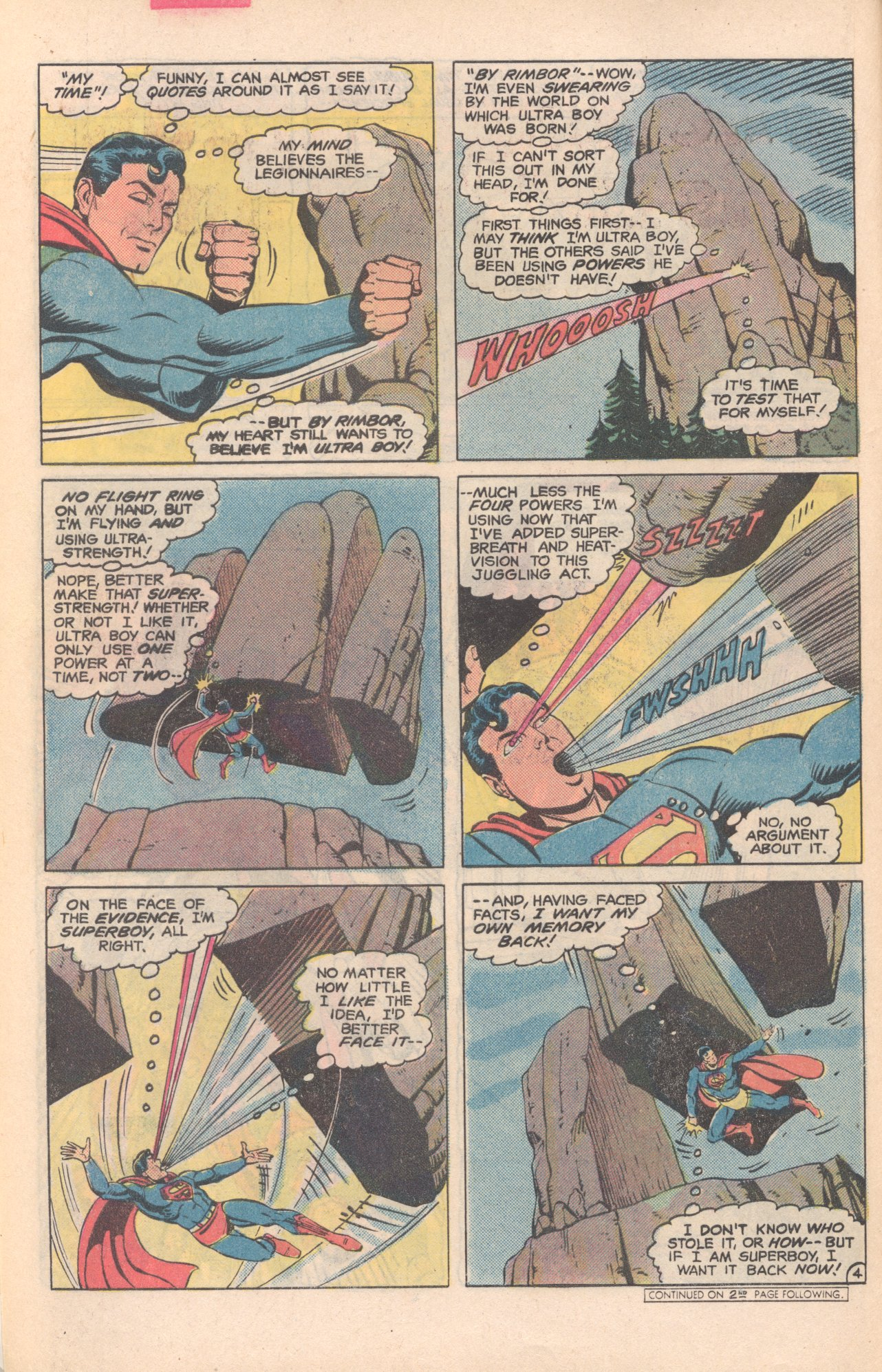 Legion of Super-Heroes (1980) 281 Page 4