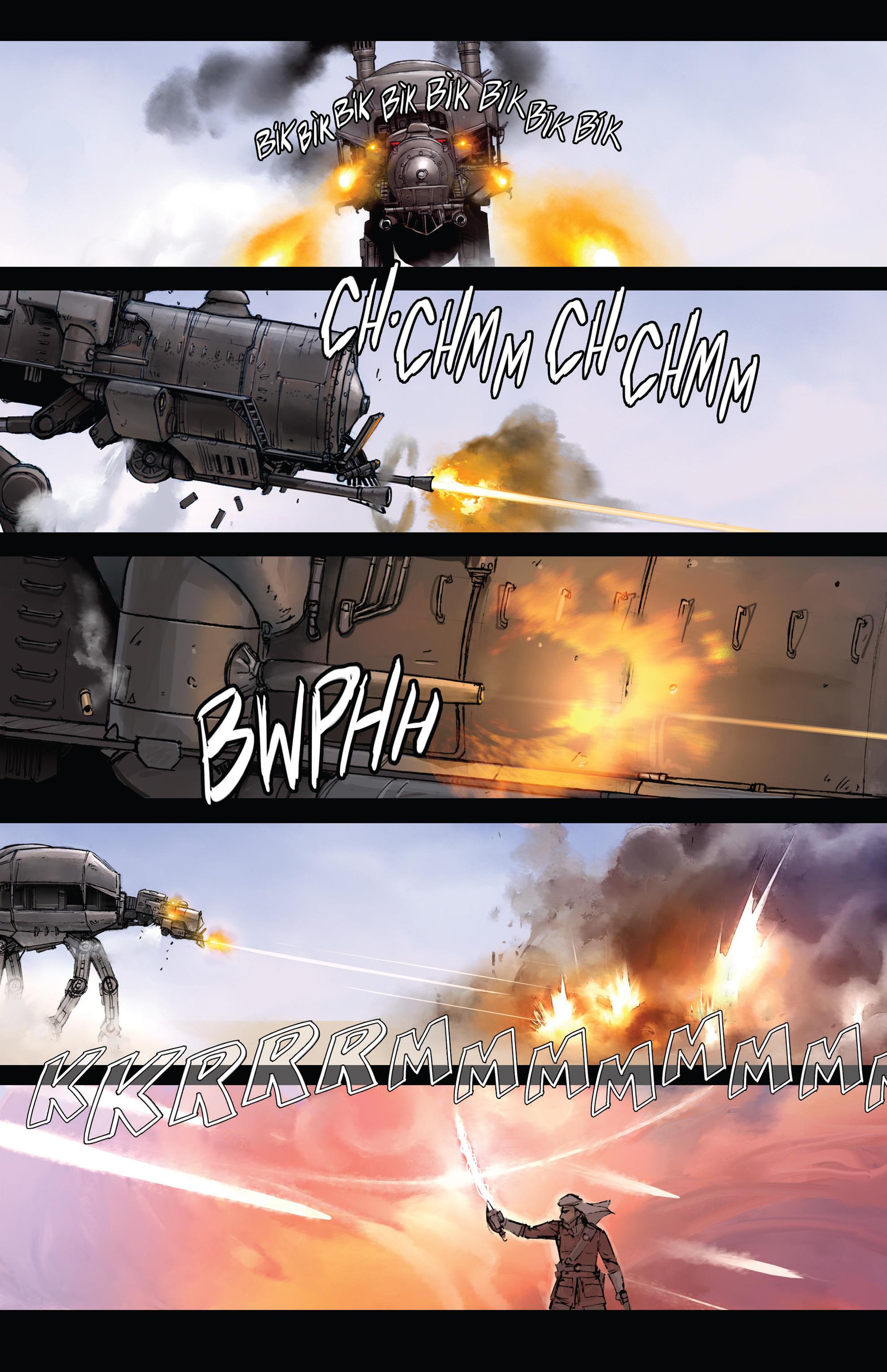 Read online Steam Wars: First Empire comic -  Issue #3 - 15