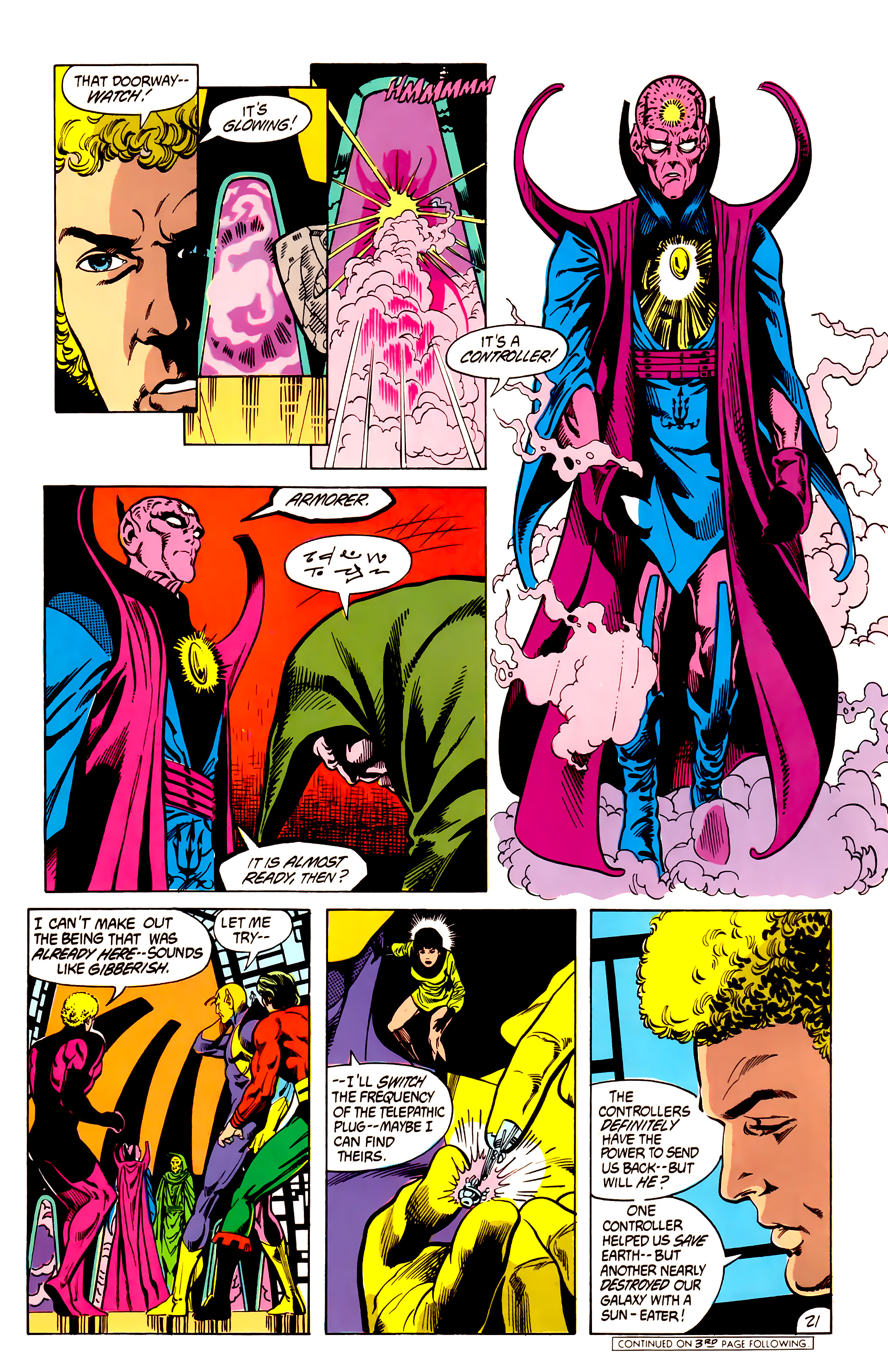 Legion of Super-Heroes (1984) 7 Page 22