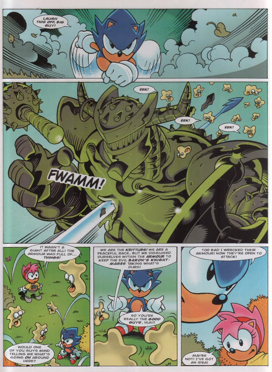 Read online Sonic the Comic comic -  Issue #160 - 7