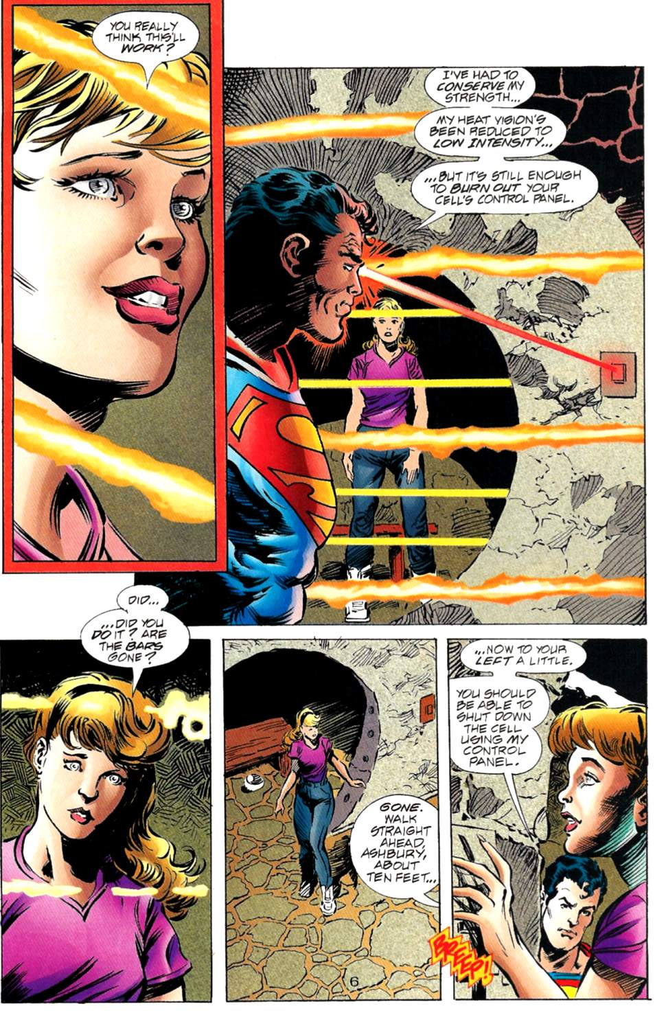 Read online Adventures of Superman (1987) comic -  Issue #563 - 7