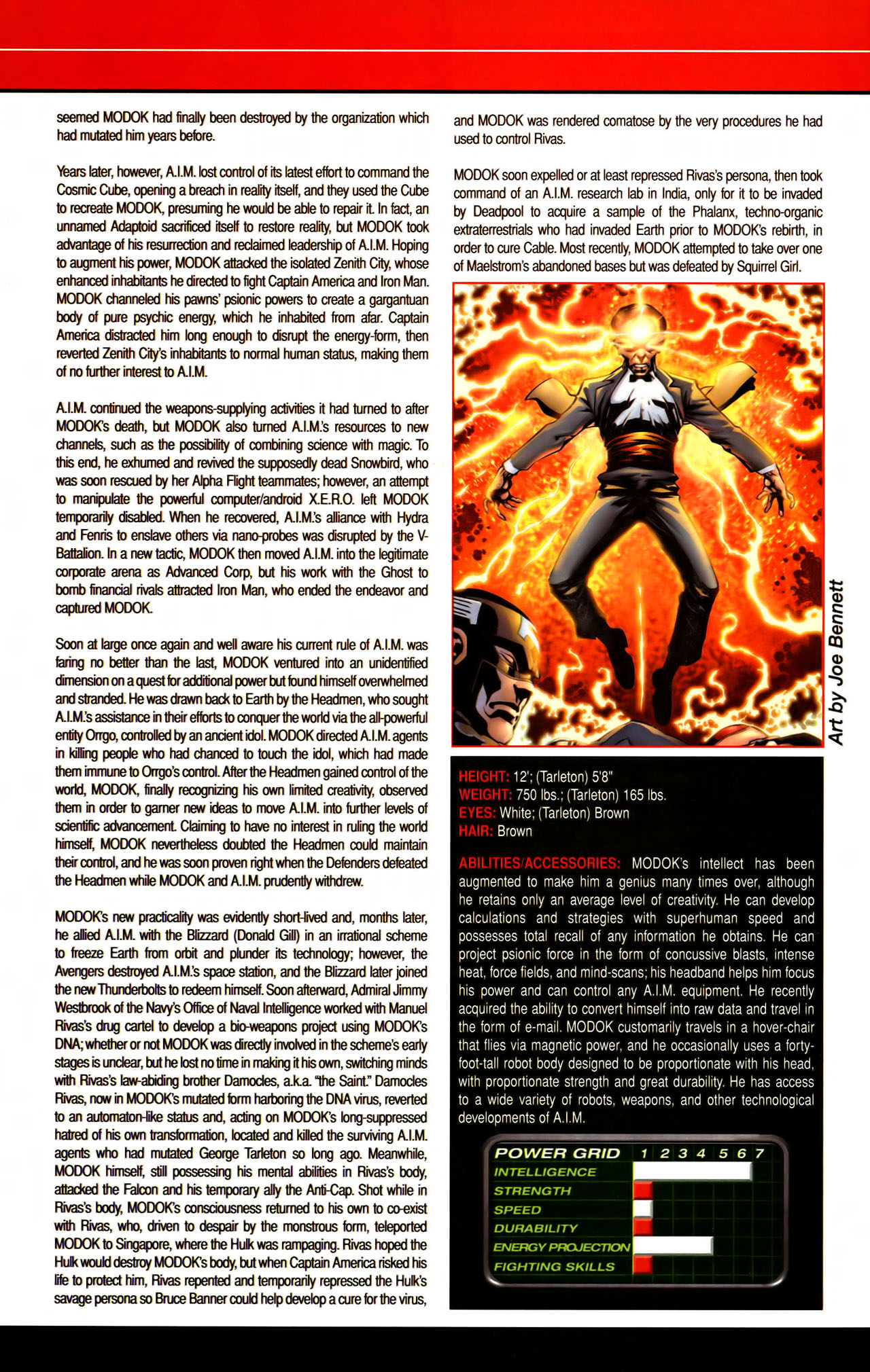 Read online All-New Official Handbook of the Marvel Universe A to Z comic -  Issue #7 - 48