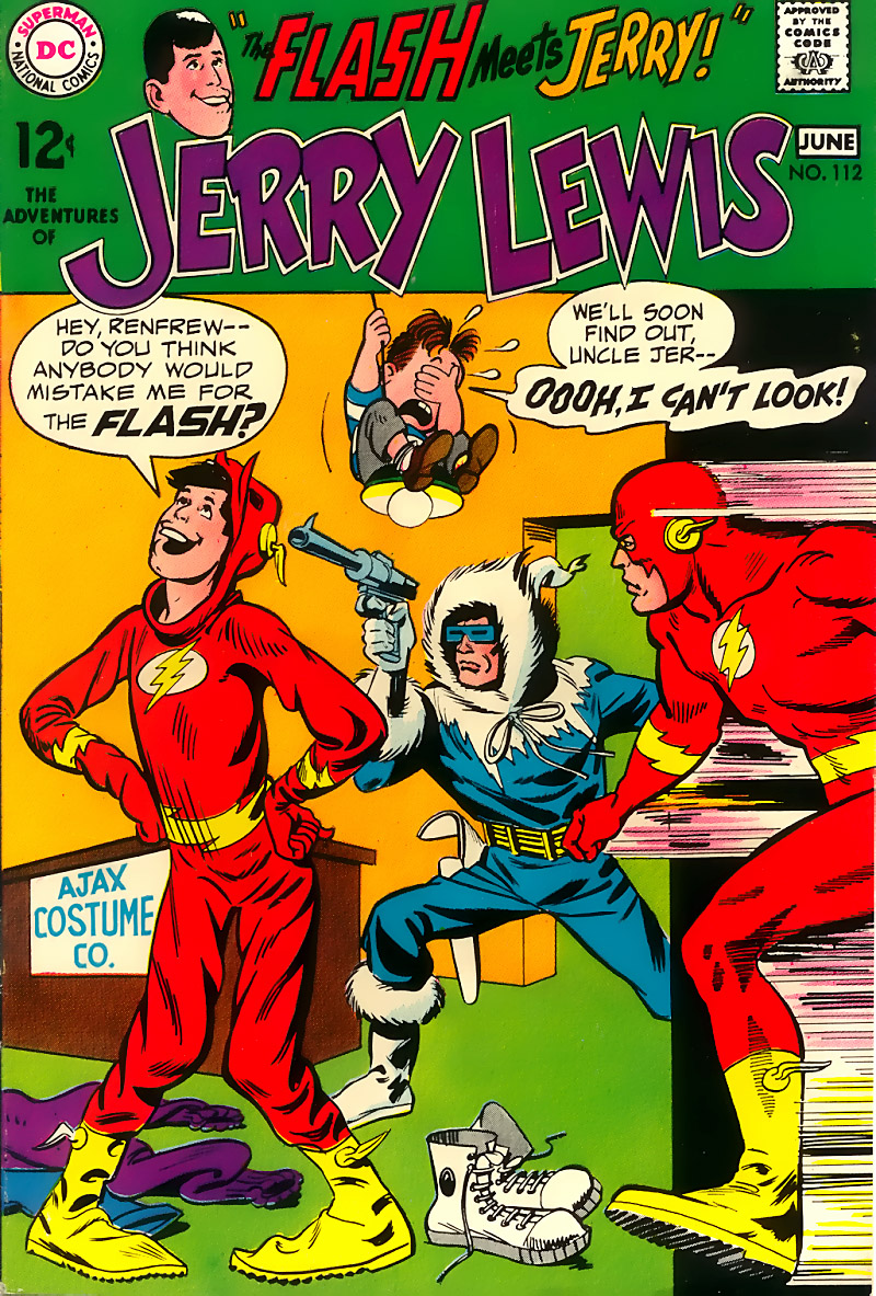 The Adventures of Jerry Lewis 112 Page 1