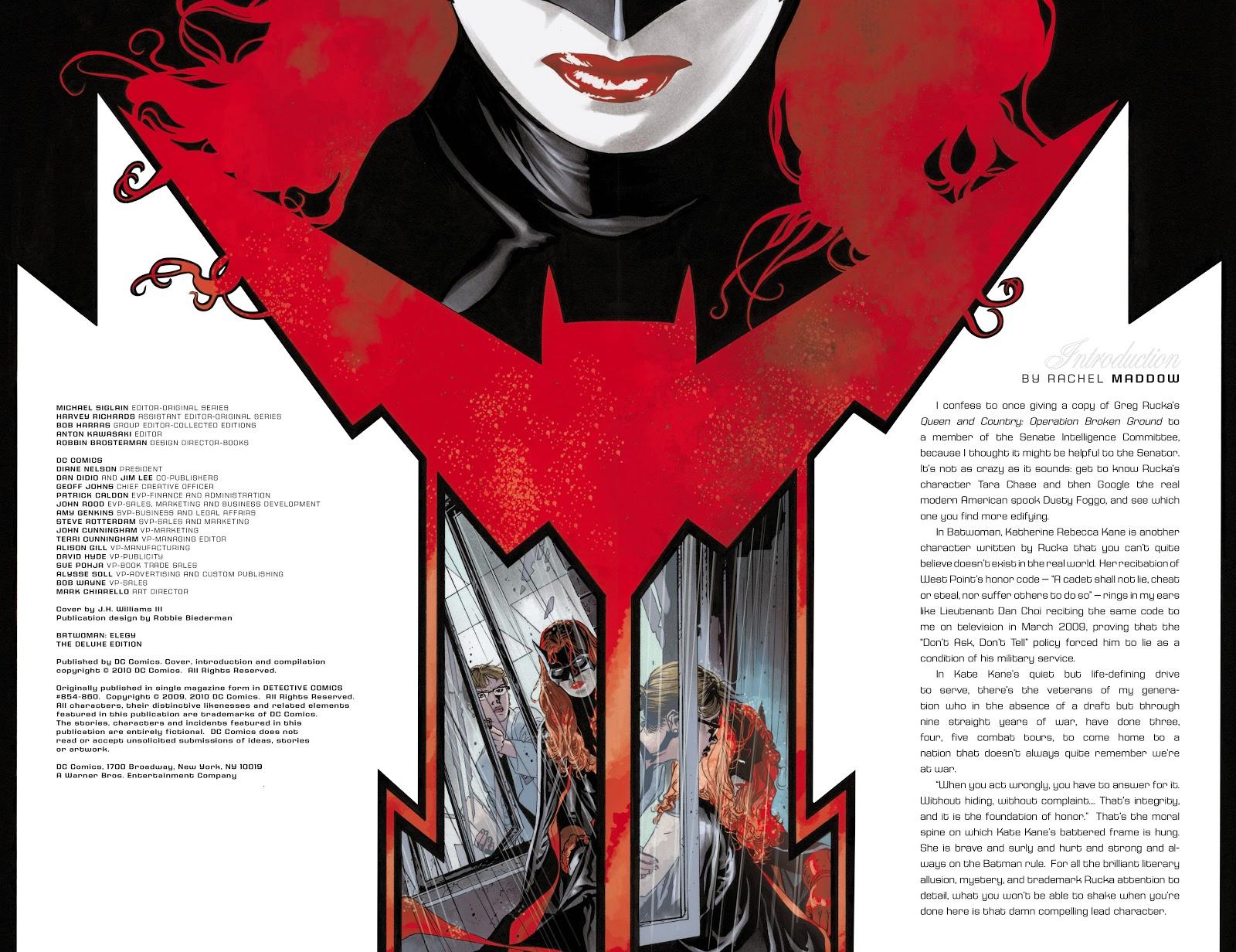 Read online Detective Comics (1937) comic -  Issue # _TPB Batwoman - Elegy (Part 1) - 4