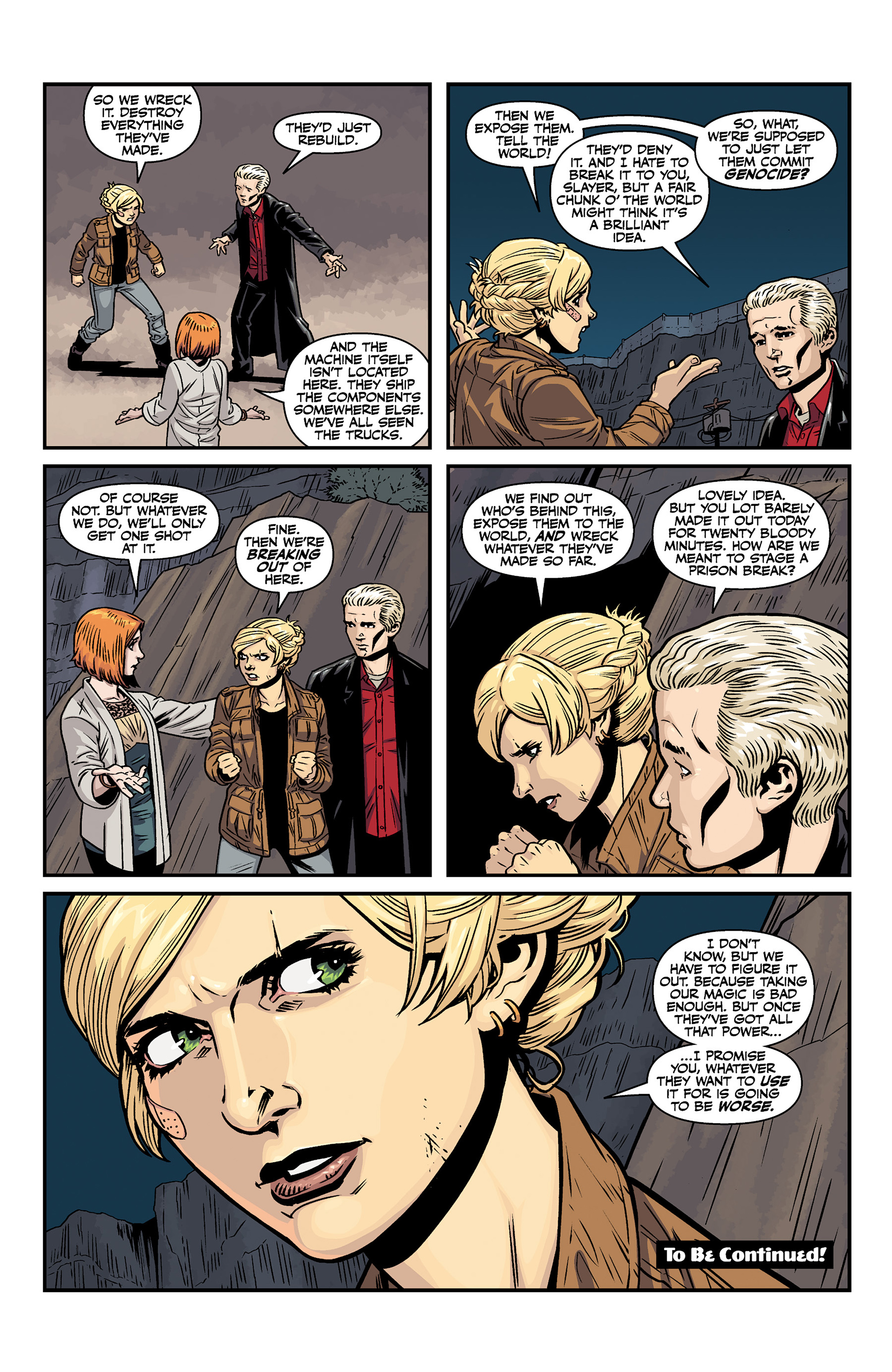 Read online Buffy the Vampire Slayer Season 11 comic -  Issue #6 - 24