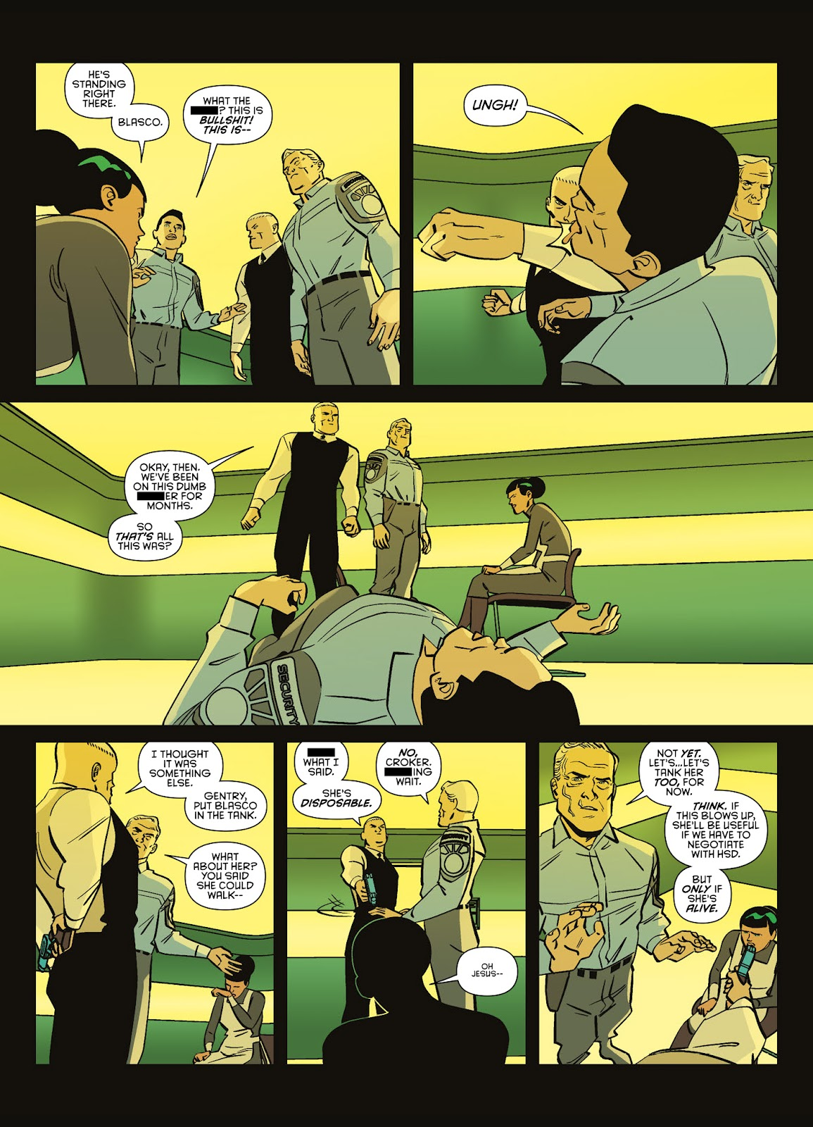 Read online Brink comic -  Issue # TPB 3 - 53