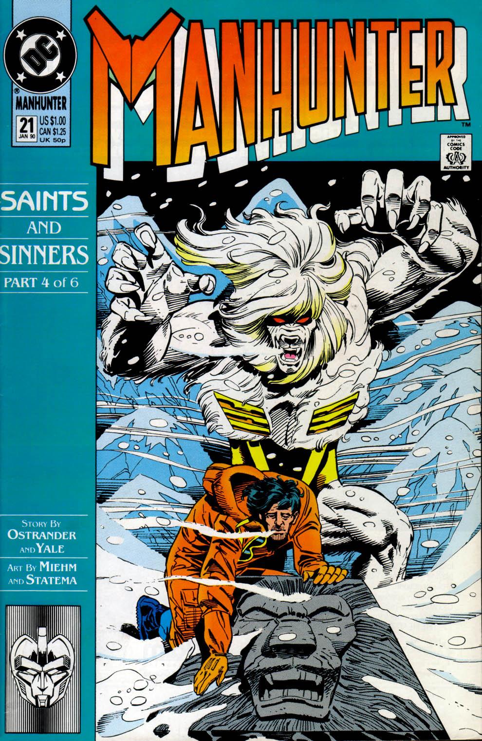Manhunter (1988) issue 21 - Page 1