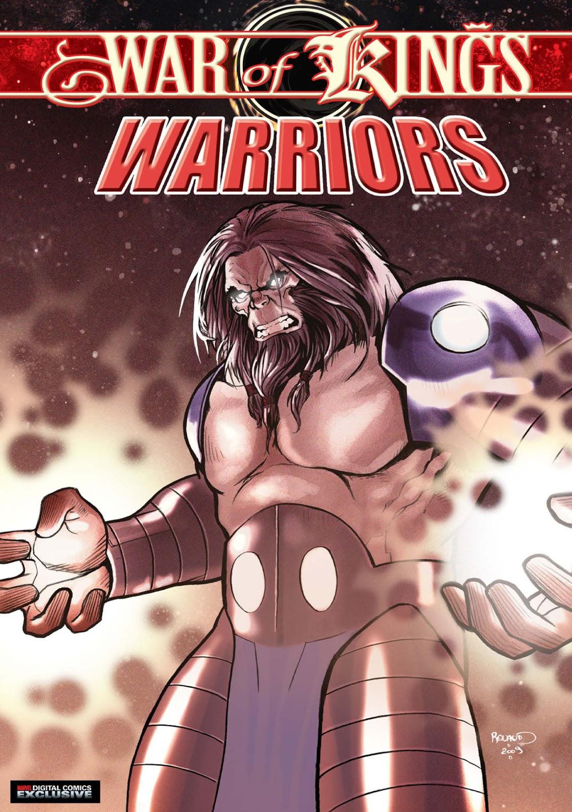 War of Kings: Warriors - Blastaar Issue #1 #1 - English 1