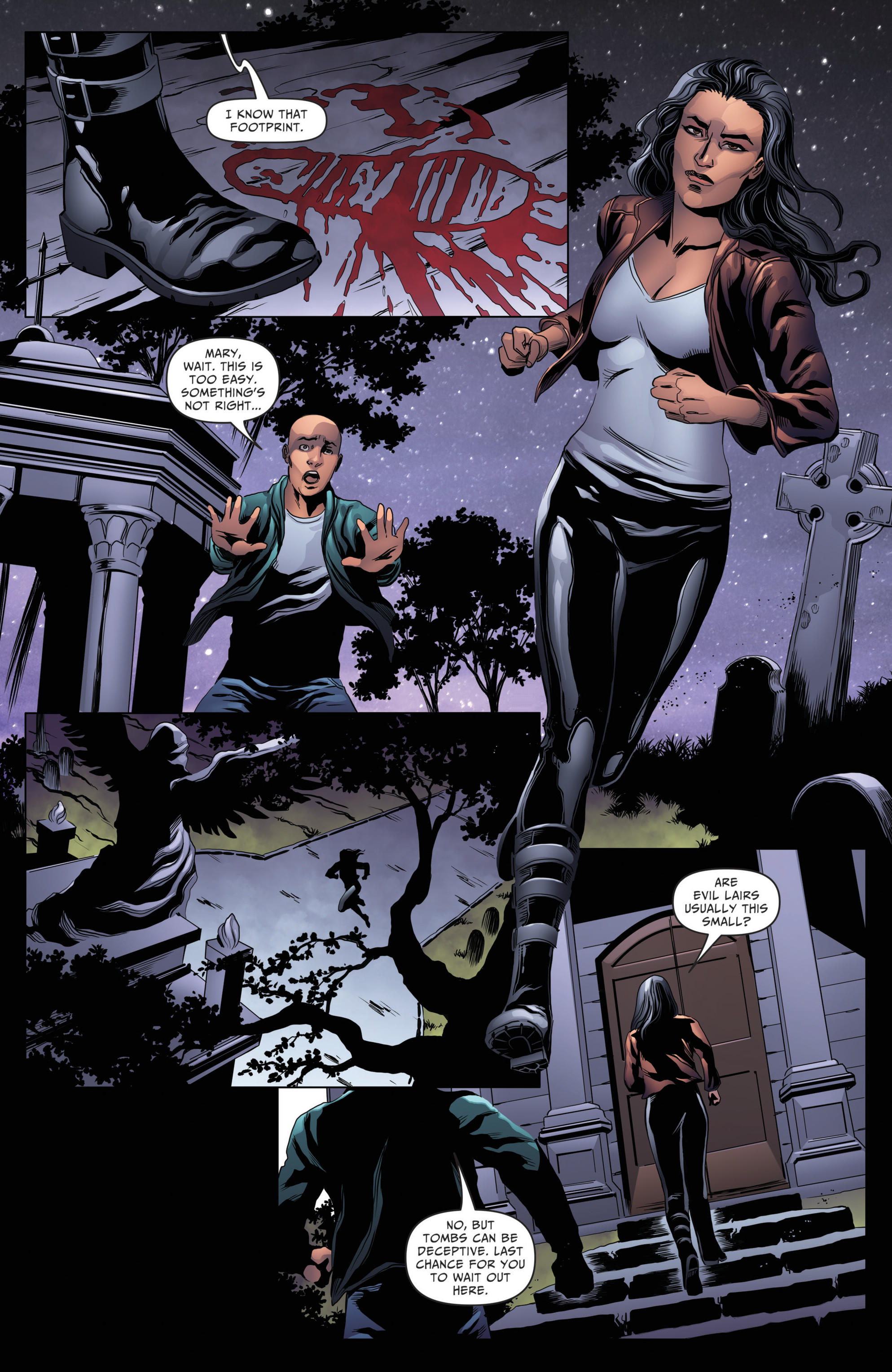 Read online Grimm Fairy Tales: Day of the Dead comic -  Issue #4 - 17
