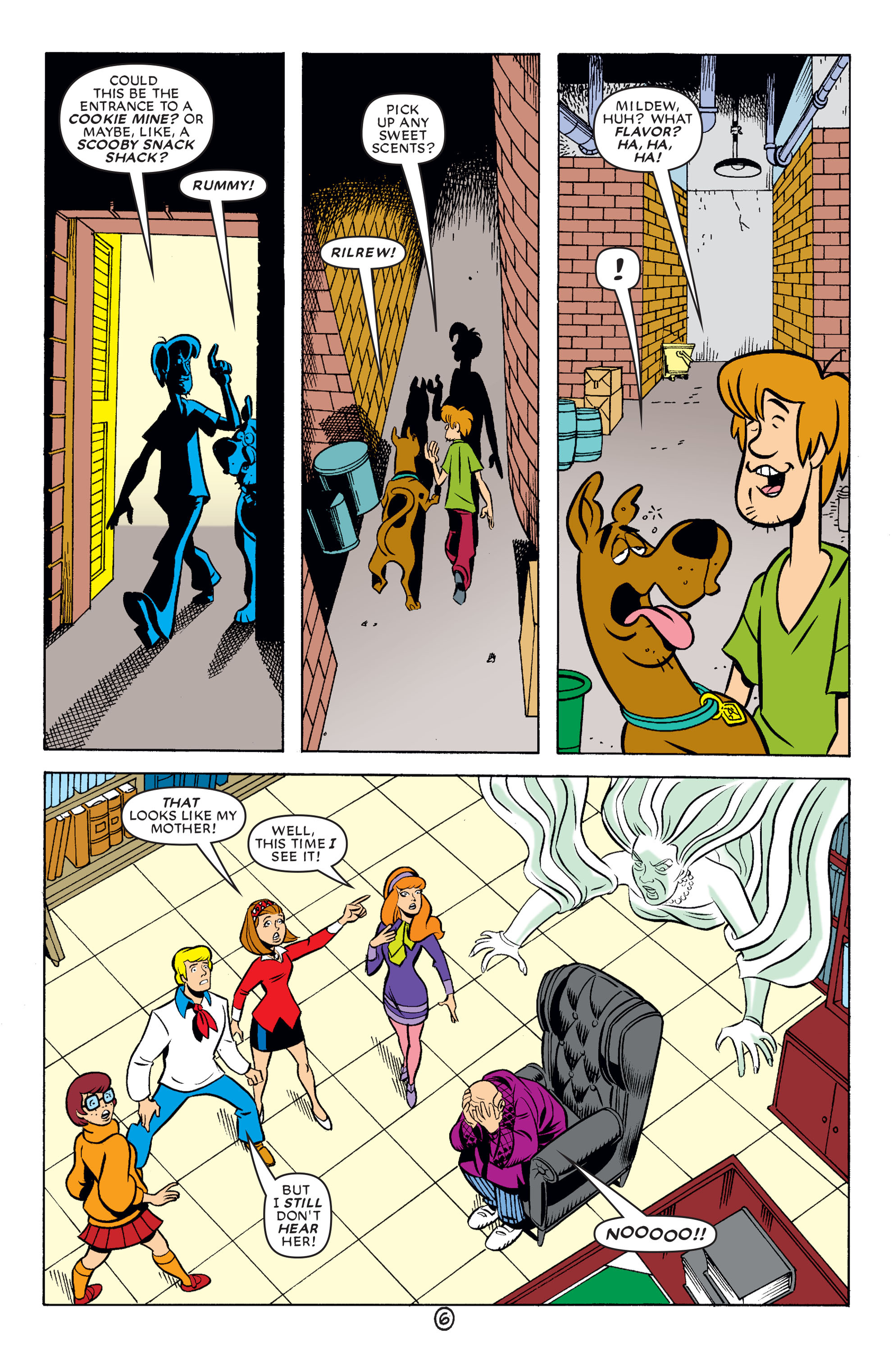 Read online Scooby-Doo (1997) comic -  Issue #62 - 7