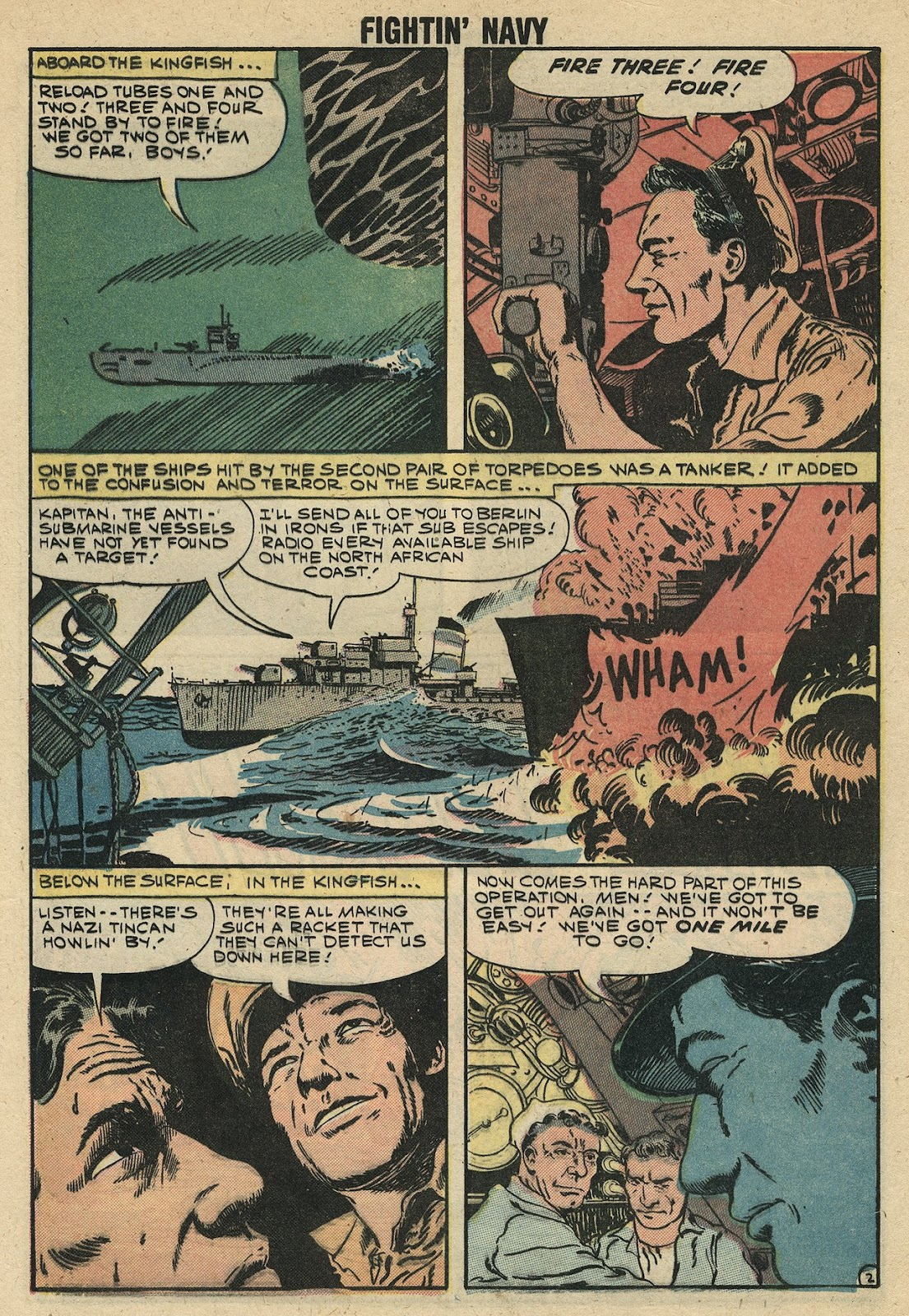 Read online Fightin' Navy comic -  Issue #86 - 4