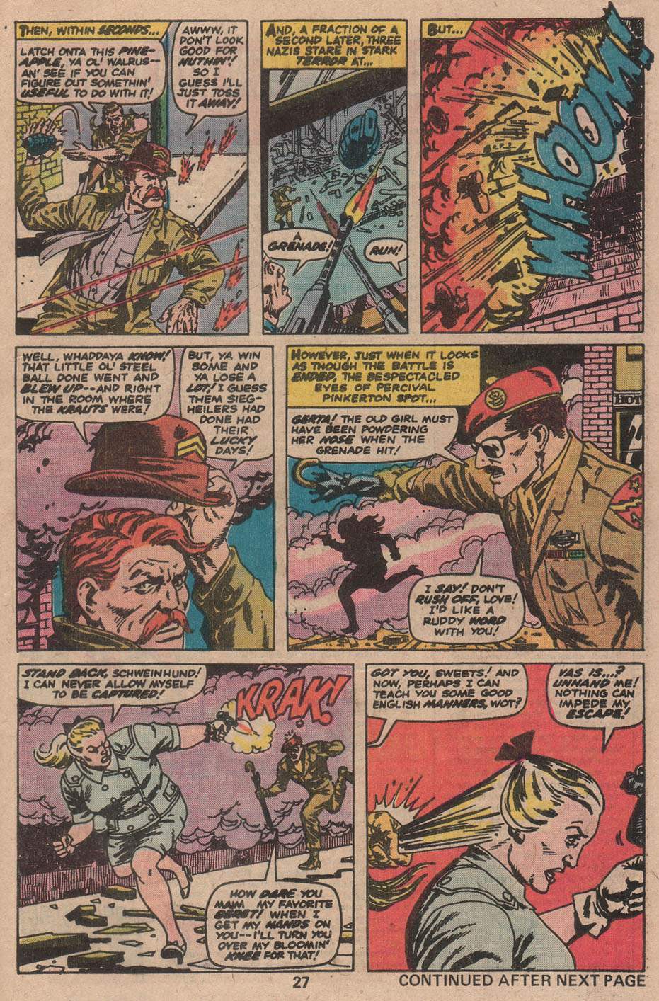 Read online Sgt. Fury comic -  Issue #142 - 29