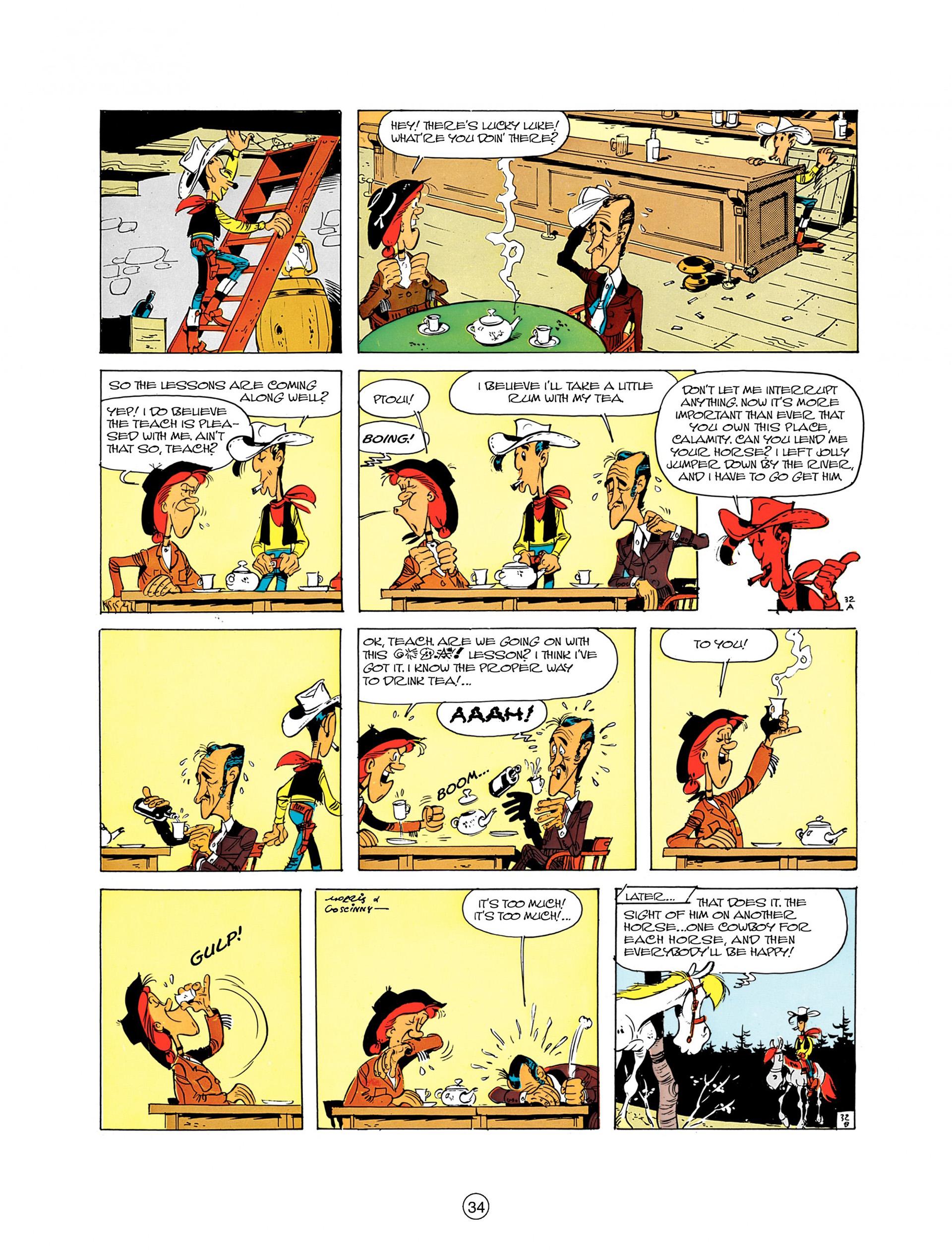 Read online A Lucky Luke Adventure comic -  Issue #8 - 34
