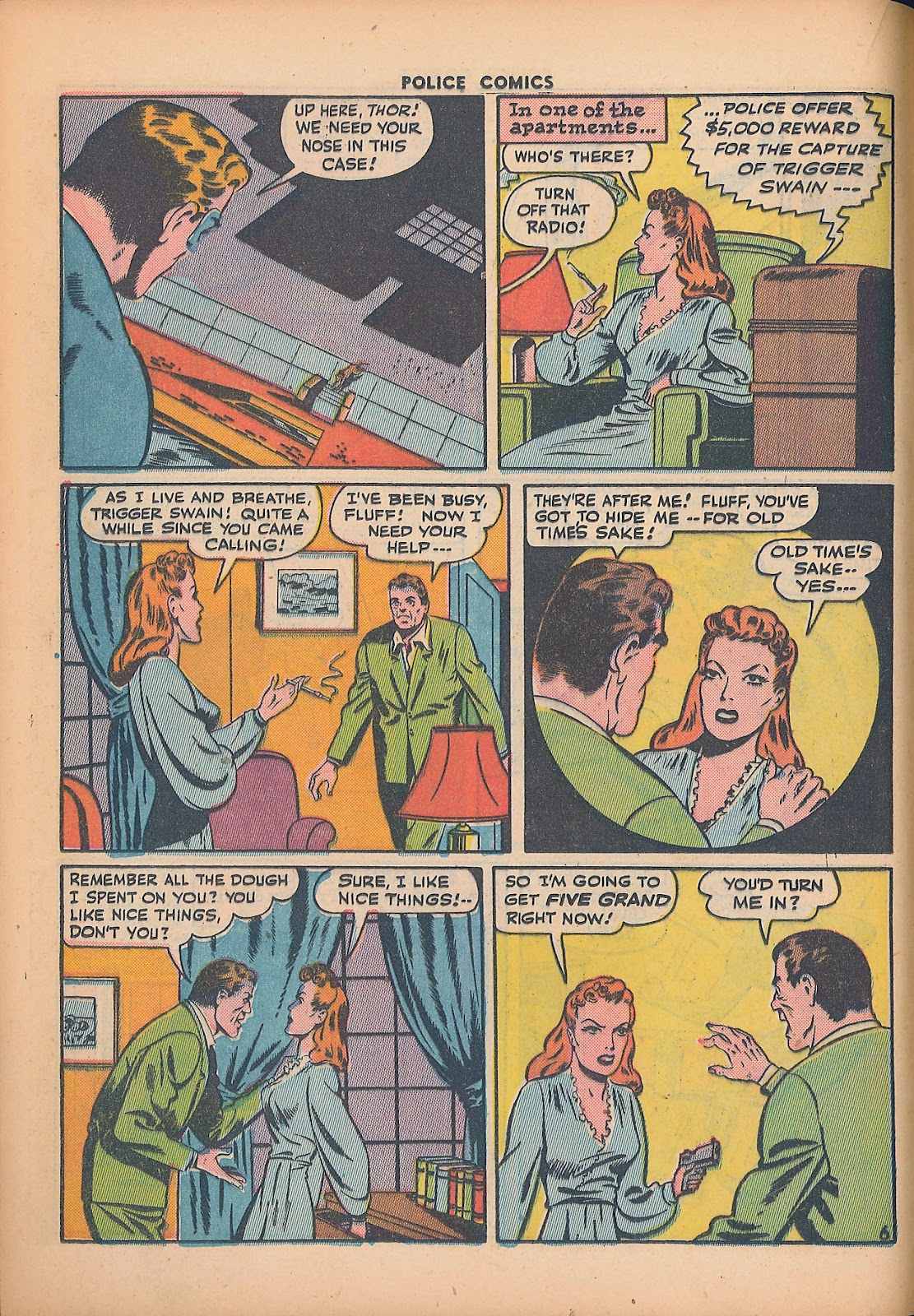 Police Comics issue 44 - Page 24