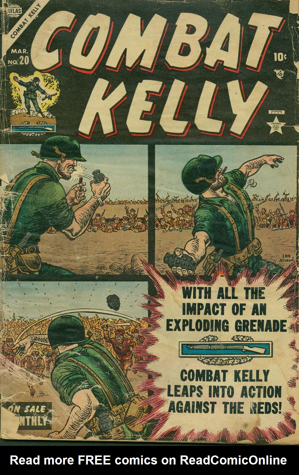 Combat Kelly (1951) 20 Page 1