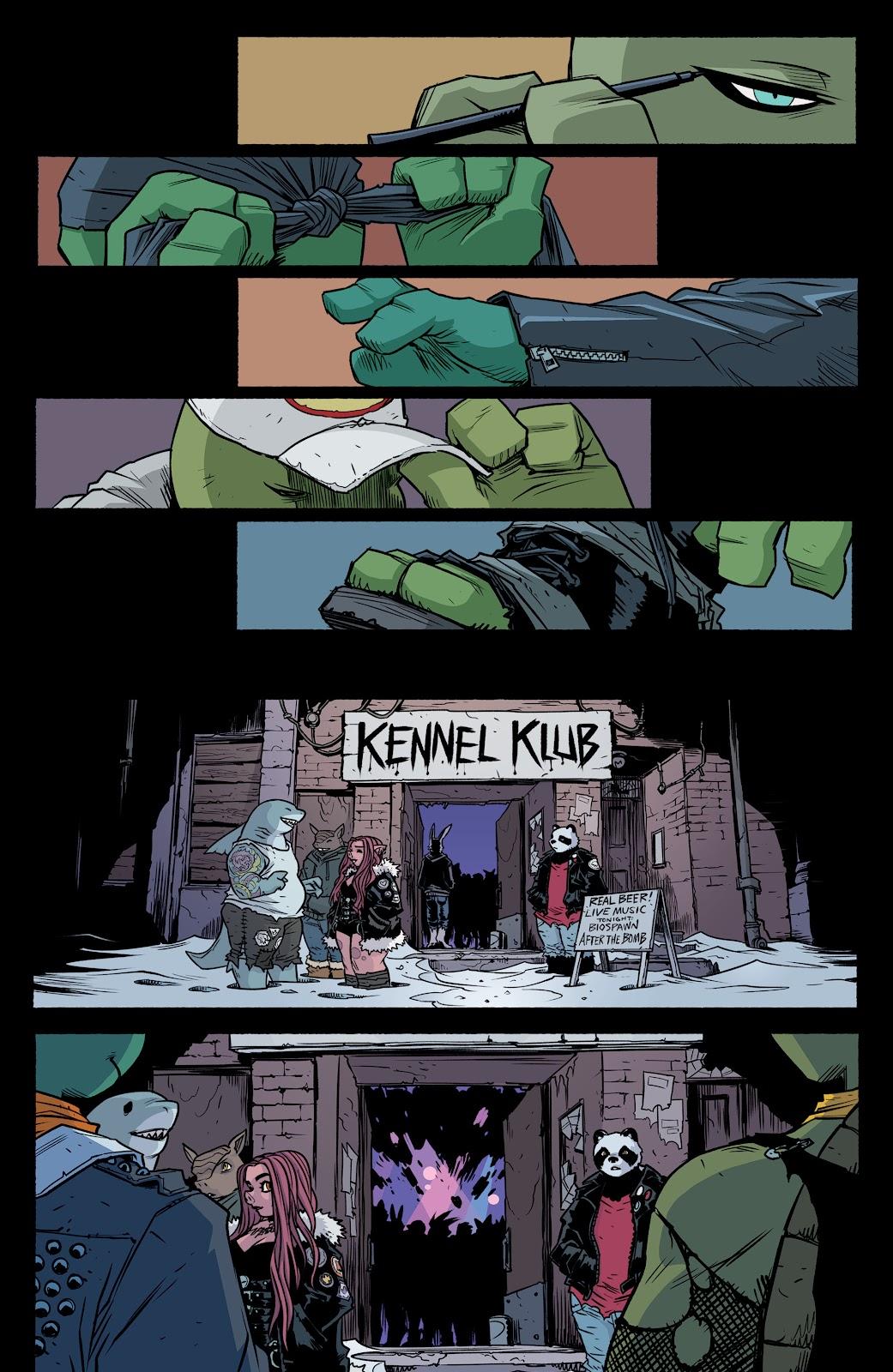 Read online Teenage Mutant Ninja Turtles (2011) comic -  Issue #104 - 21