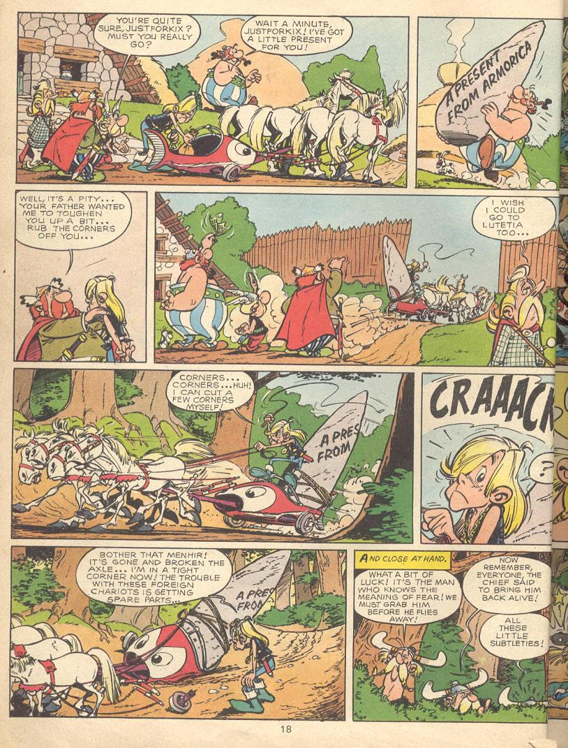 Read online Asterix comic -  Issue #9 - 15