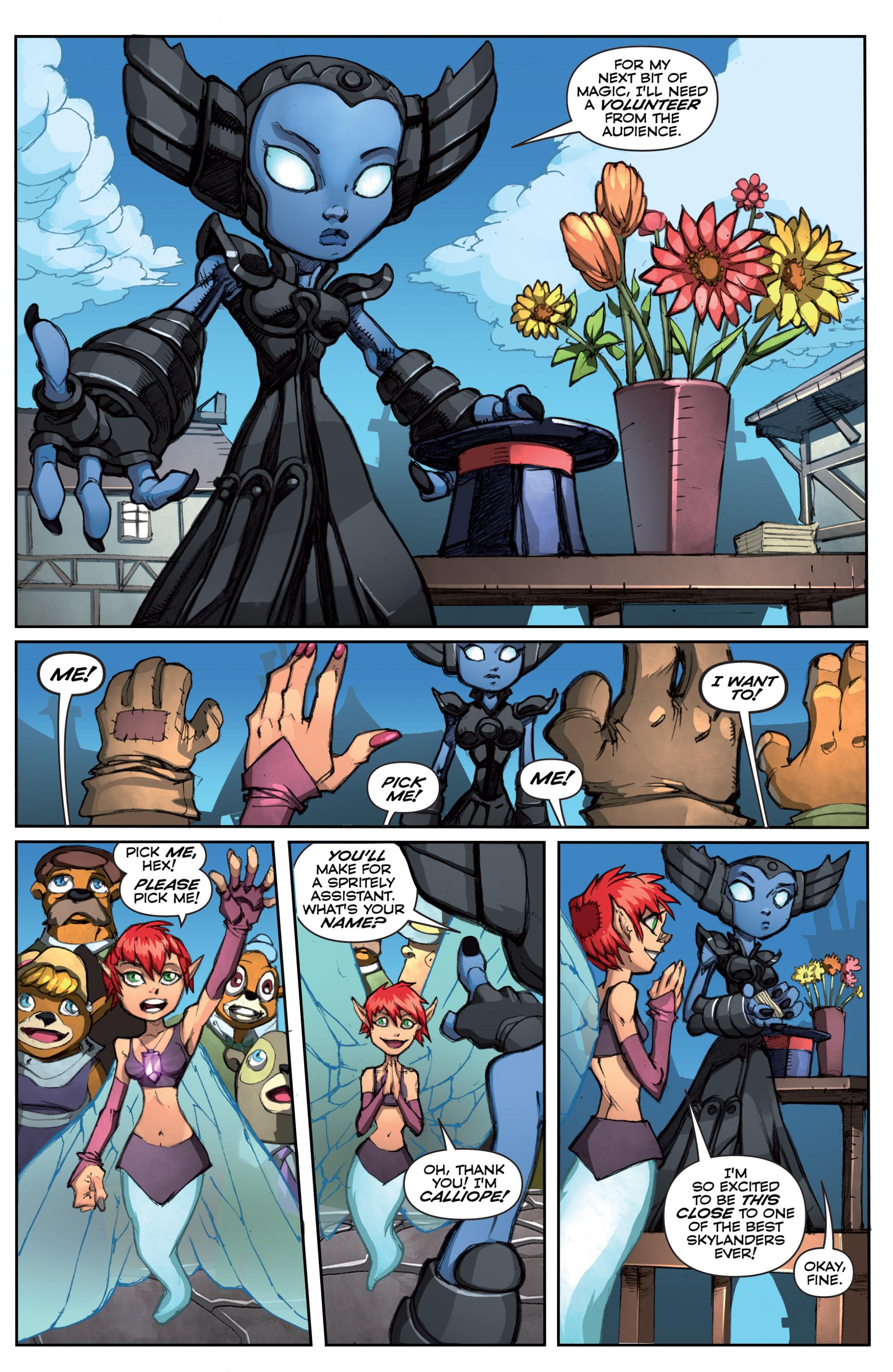 Read online Skylanders comic -  Issue #5 - 20