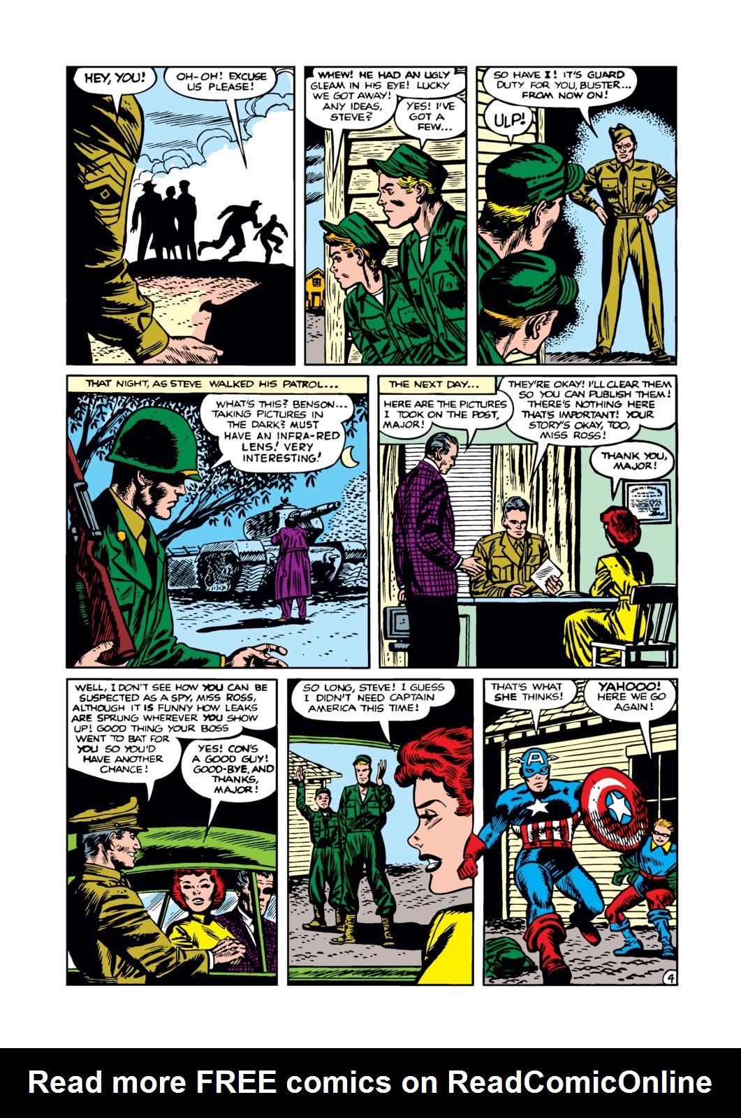 Captain America Comics 76 Page 4
