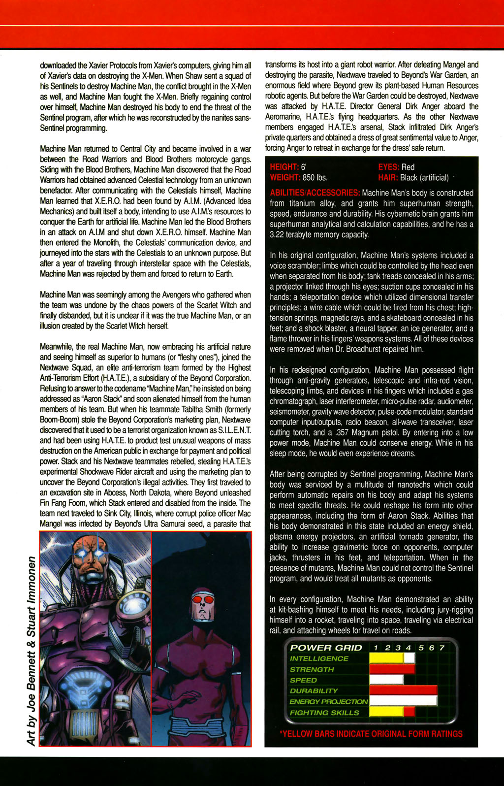 Read online All-New Official Handbook of the Marvel Universe A to Z comic -  Issue #6 - 46
