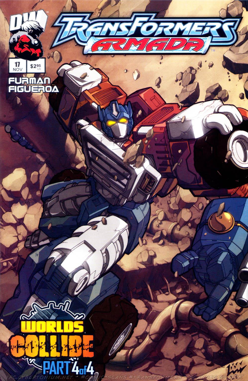 Read online Transformers Armada comic -  Issue #17 - 1