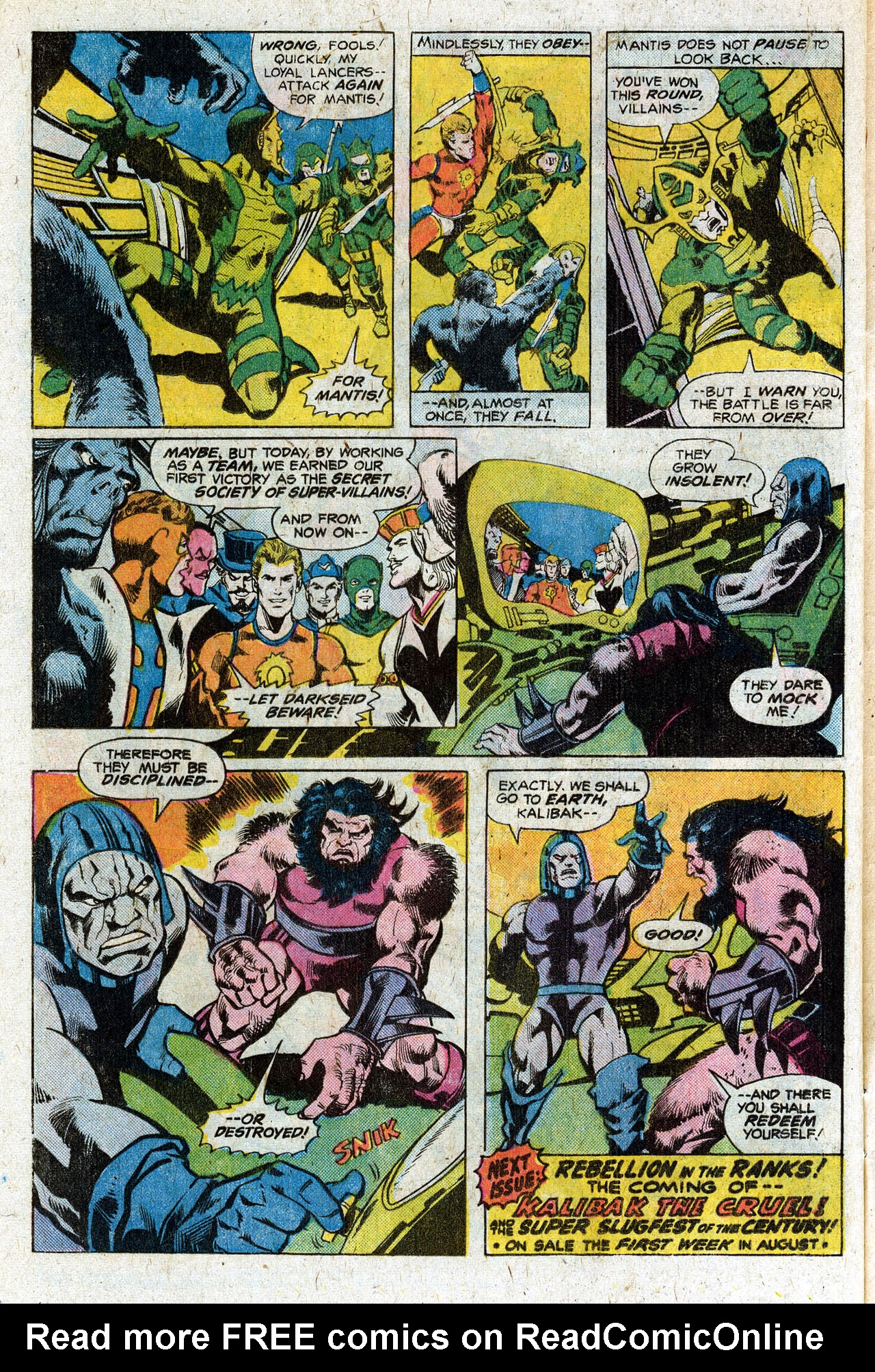 Read online Secret Society of Super-Villains comic -  Issue #3 - 31