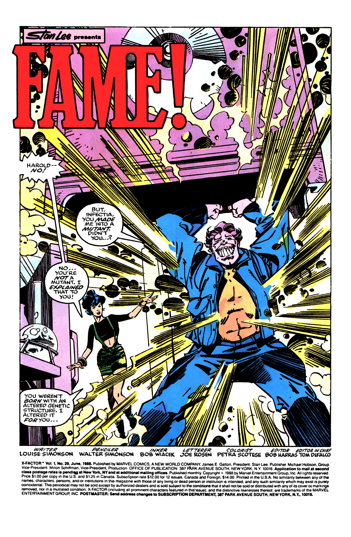 Read online X-Factor (1986) comic -  Issue #29 - 2