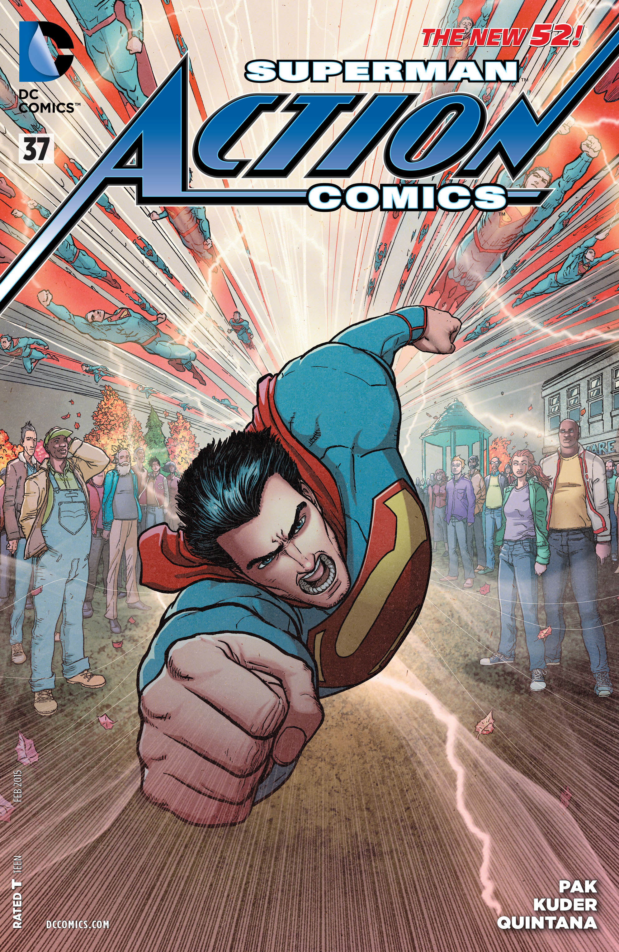 Read online Action Comics (2011) comic -  Issue #37 - 1
