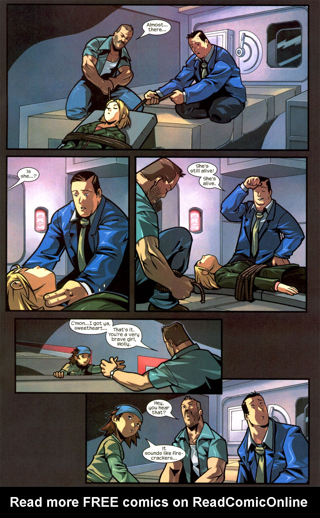 Read online Sentinel comic -  Issue #8 - 23