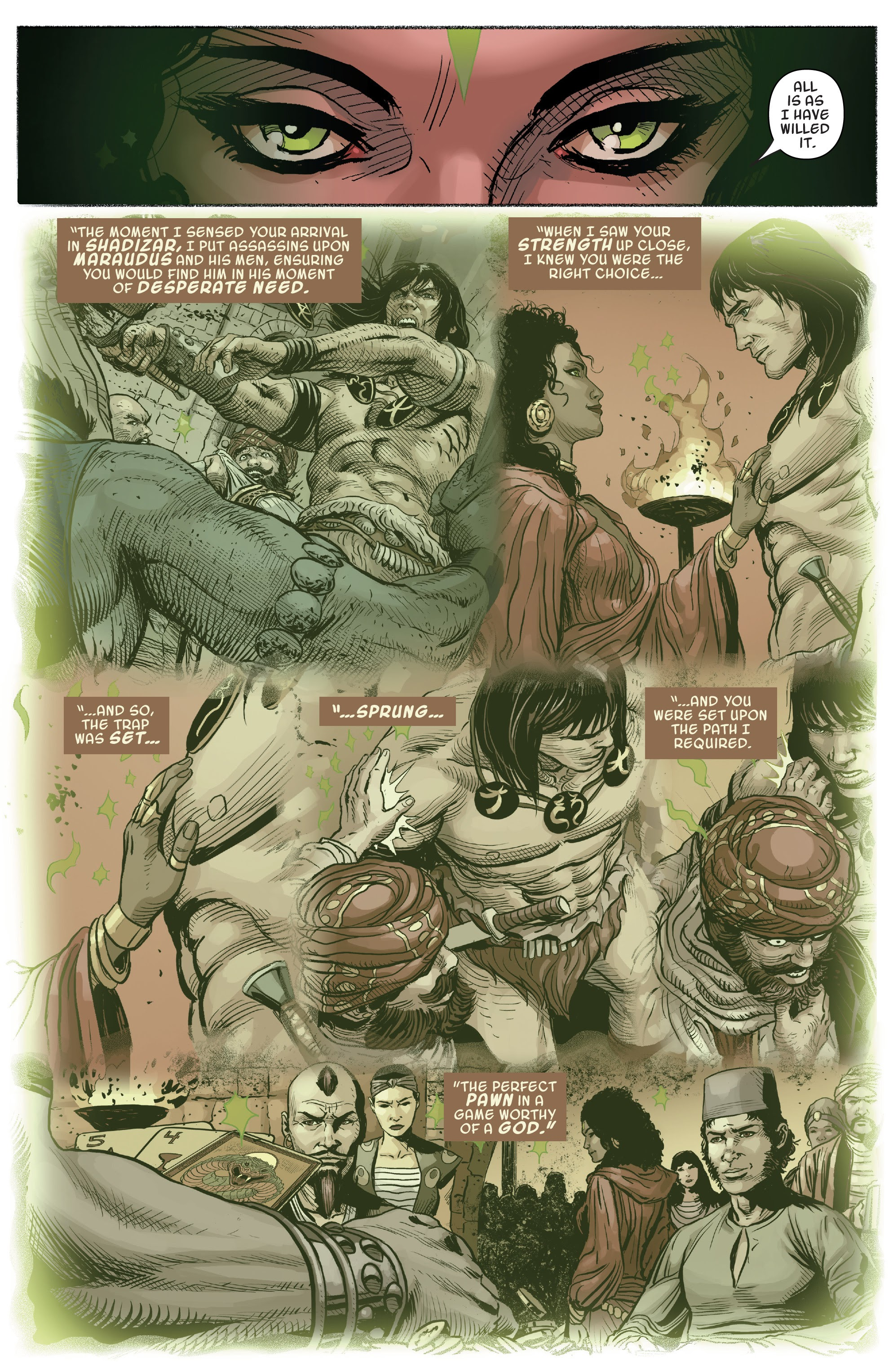 Read online Savage Sword of Conan comic -  Issue #9 - 20