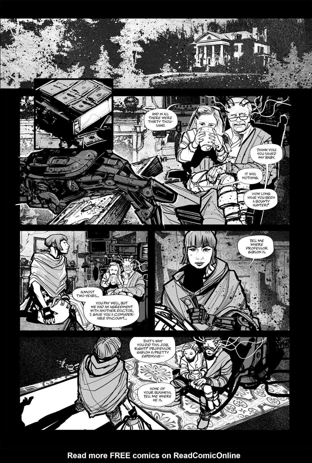 Read online Wrath of God comic -  Issue # _TPB - 92