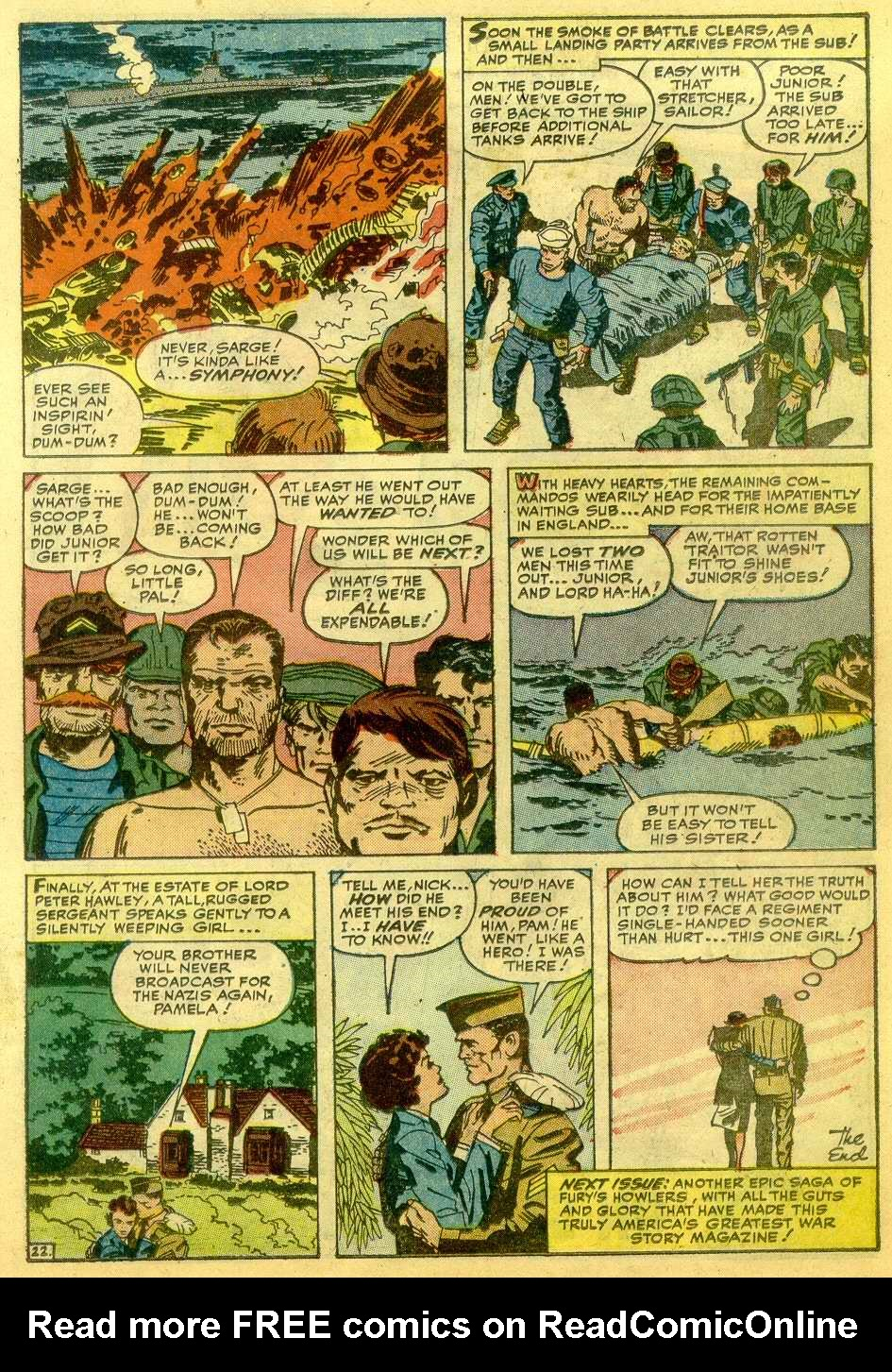 Read online Sgt. Fury comic -  Issue # _Annual 1 - 45