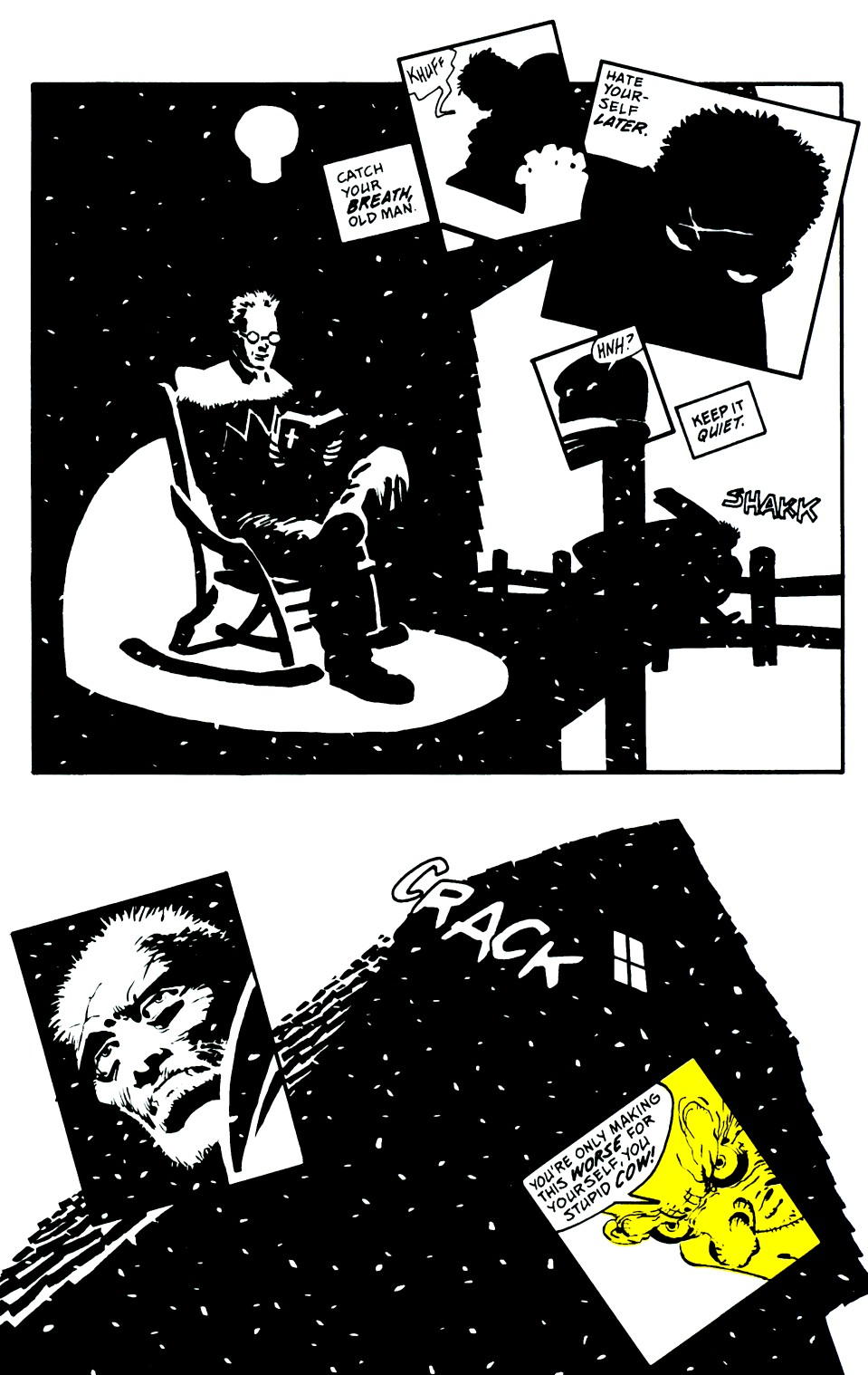 Read online Sin City: That Yellow Bastard comic -  Issue #6 - 27