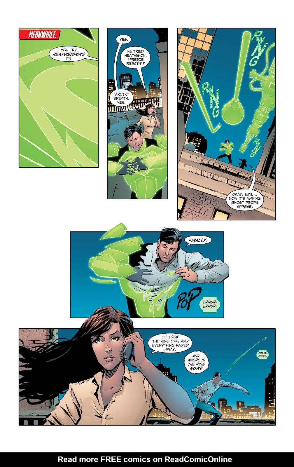 Read online Smallville Season 11 [II] comic -  Issue # TPB 7 - 20