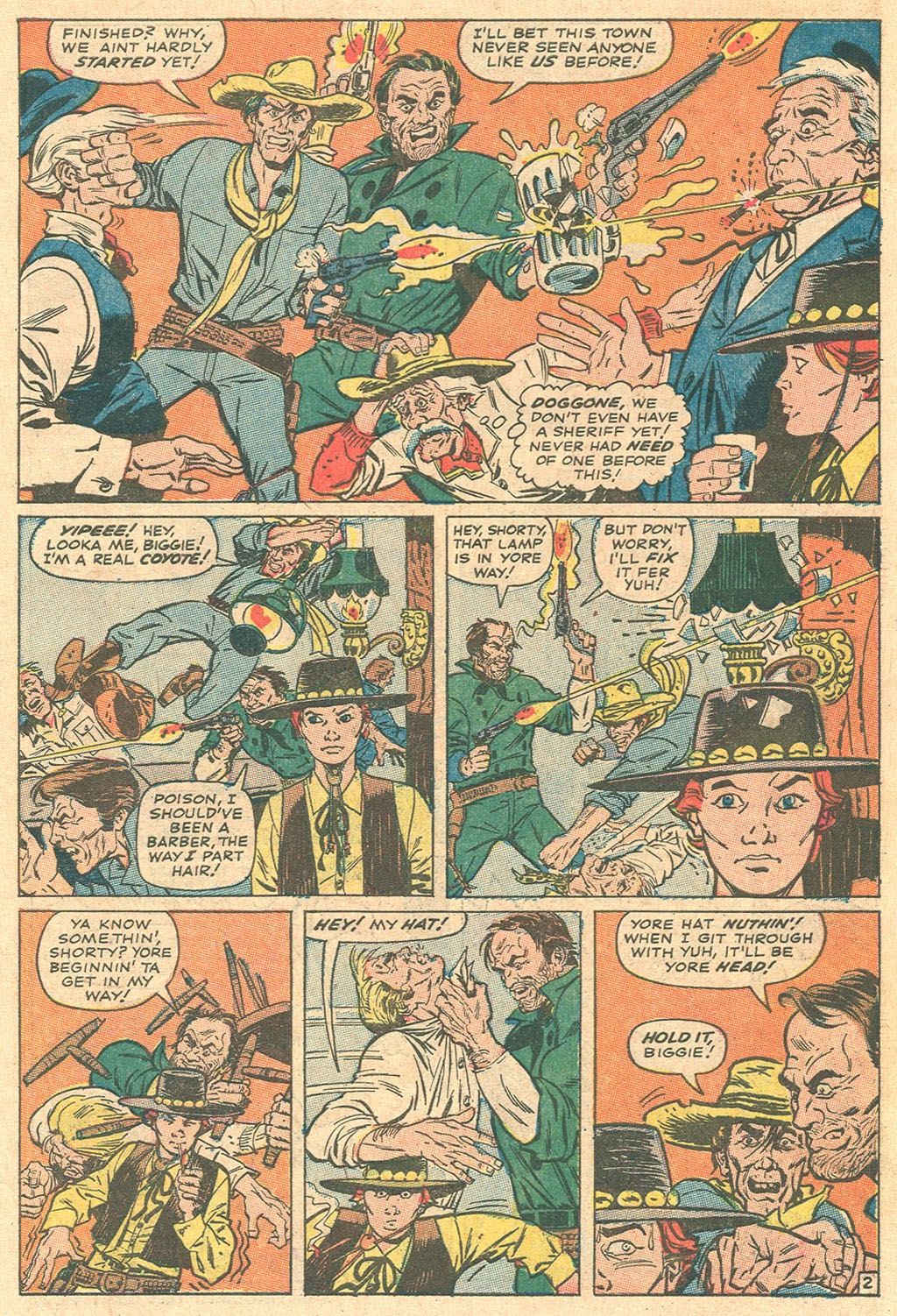 Kid Colt Outlaw issue 136 - Page 27
