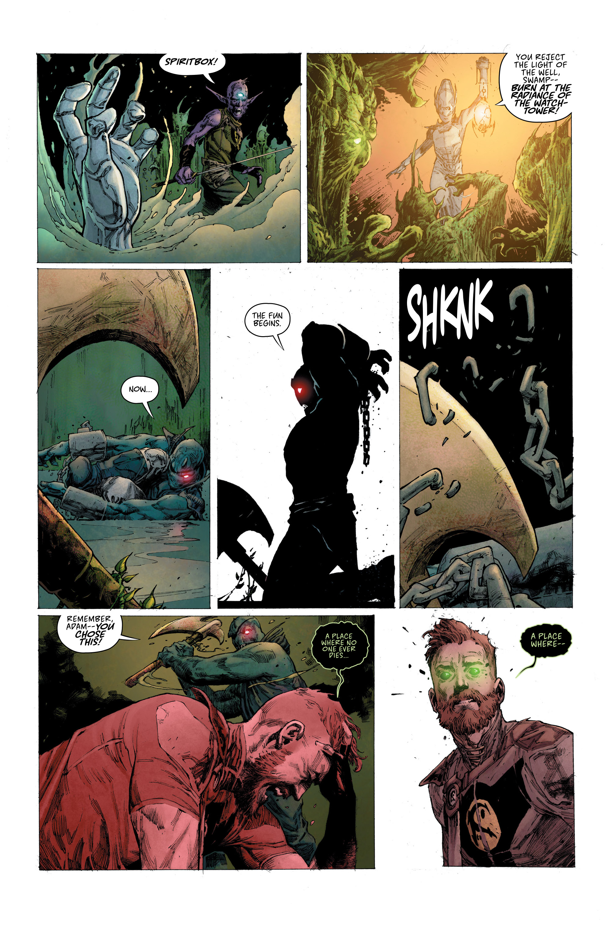 Read online Seven To Eternity comic -  Issue #6 - 12