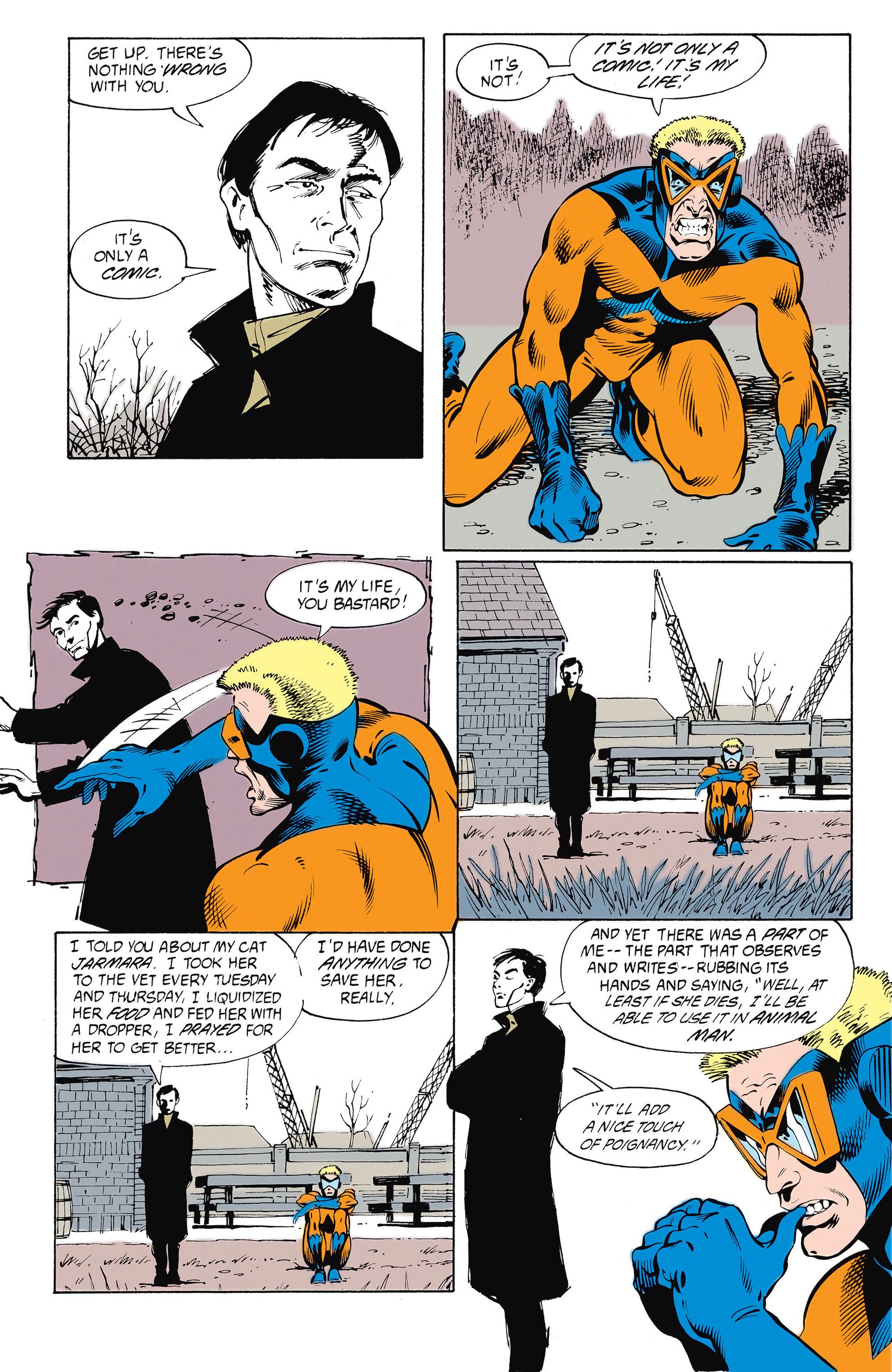 Read online Animal Man (1988) comic -  Issue #26 - 19