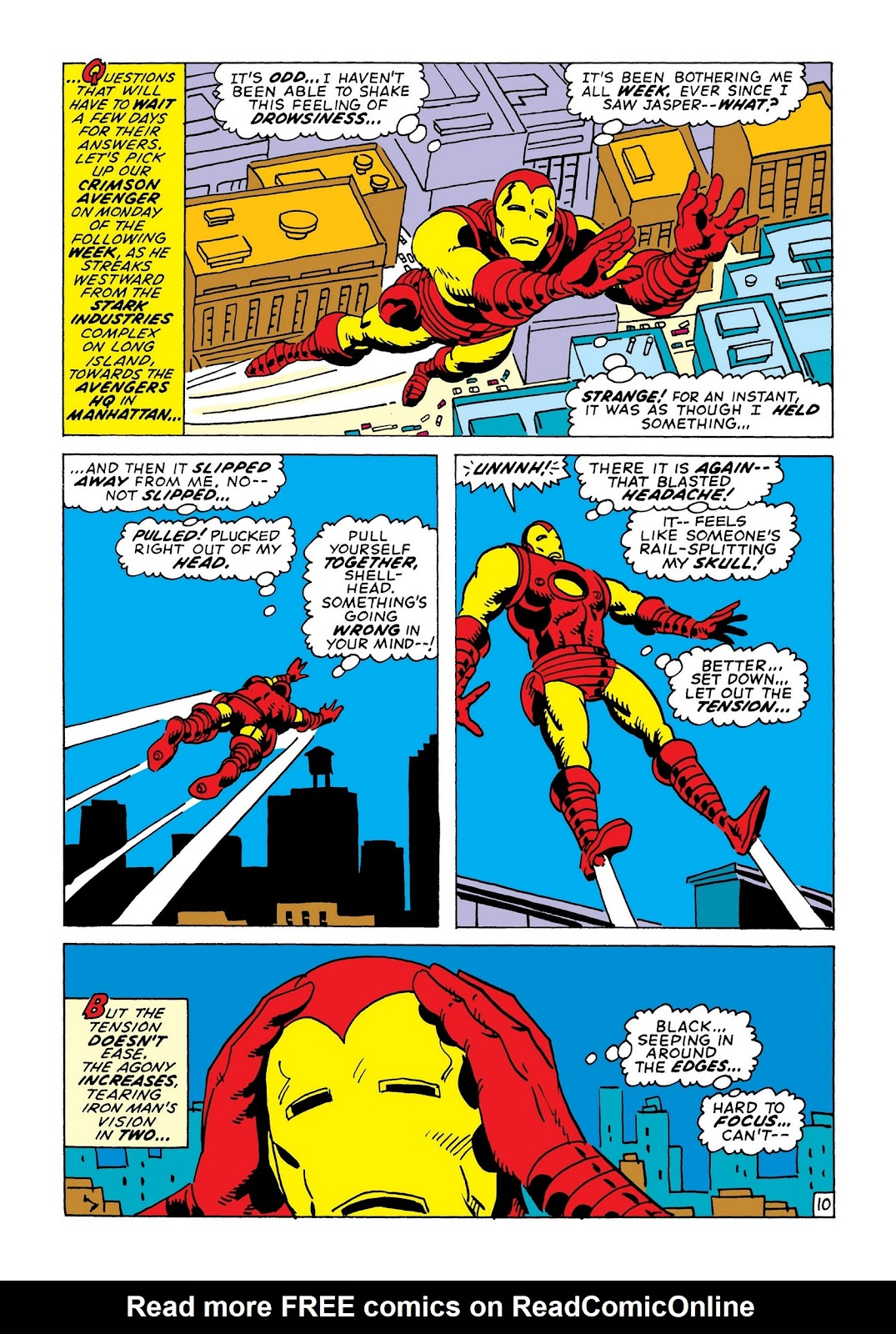 Read online Marvel Masterworks: The Invincible Iron Man comic -  Issue # TPB 8 (Part 1) - 17
