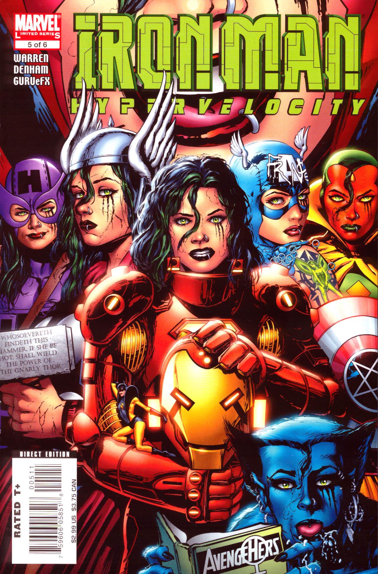 Iron Man: Hypervelocity 5 Page 1