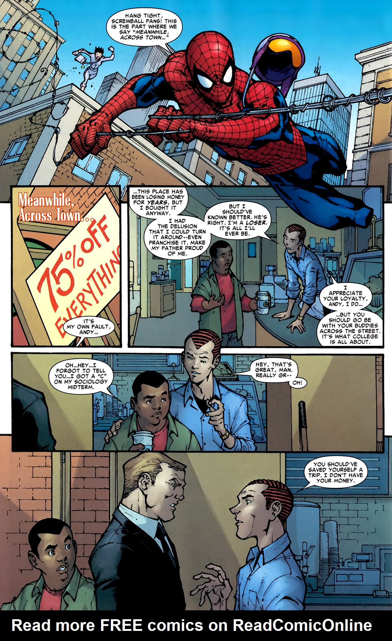 Read online Amazing Spider-Man Presents: American Son comic -  Issue #1 - 31