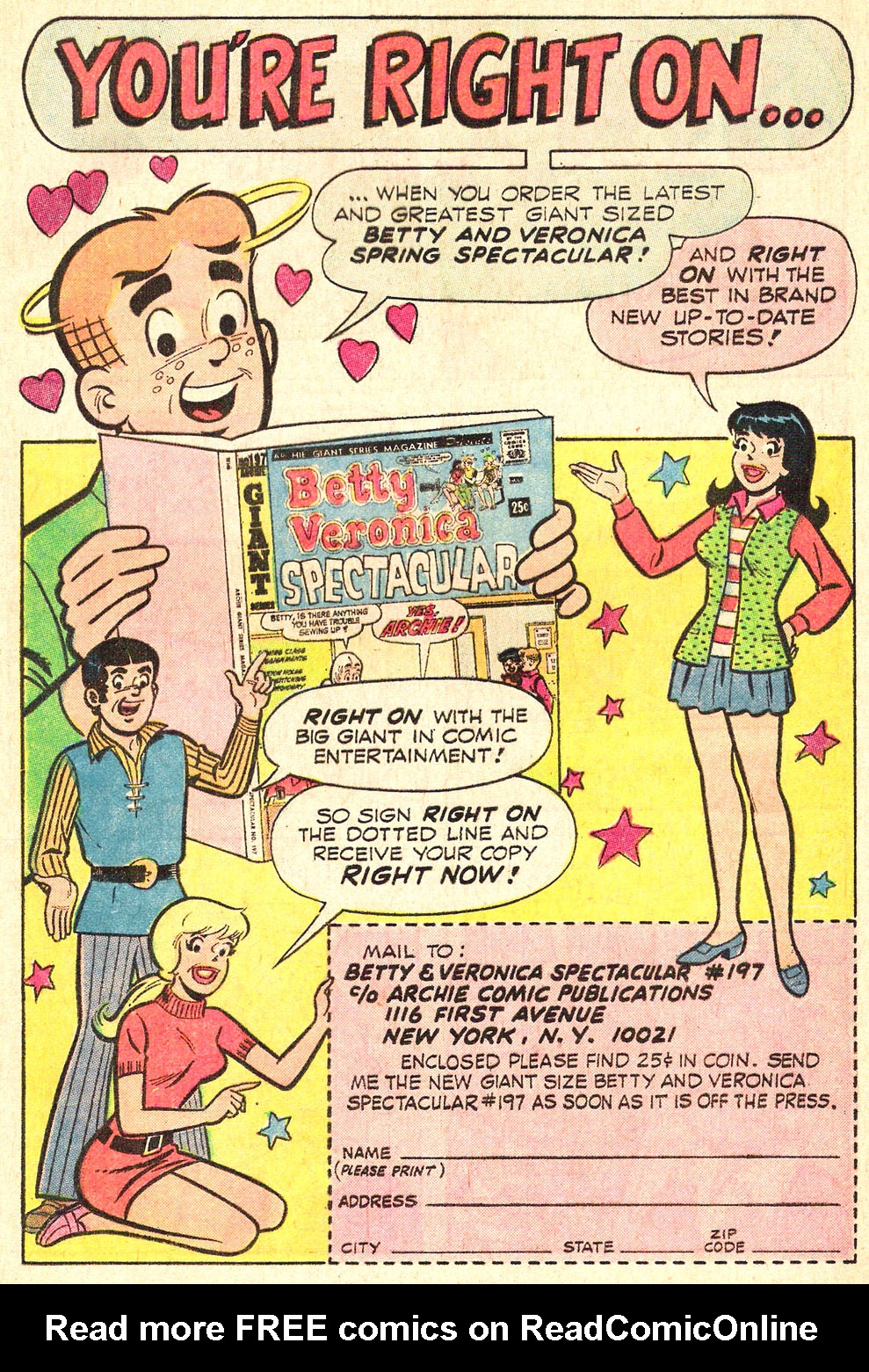 Read online Archie's Girls Betty and Veronica comic -  Issue #196 - 17