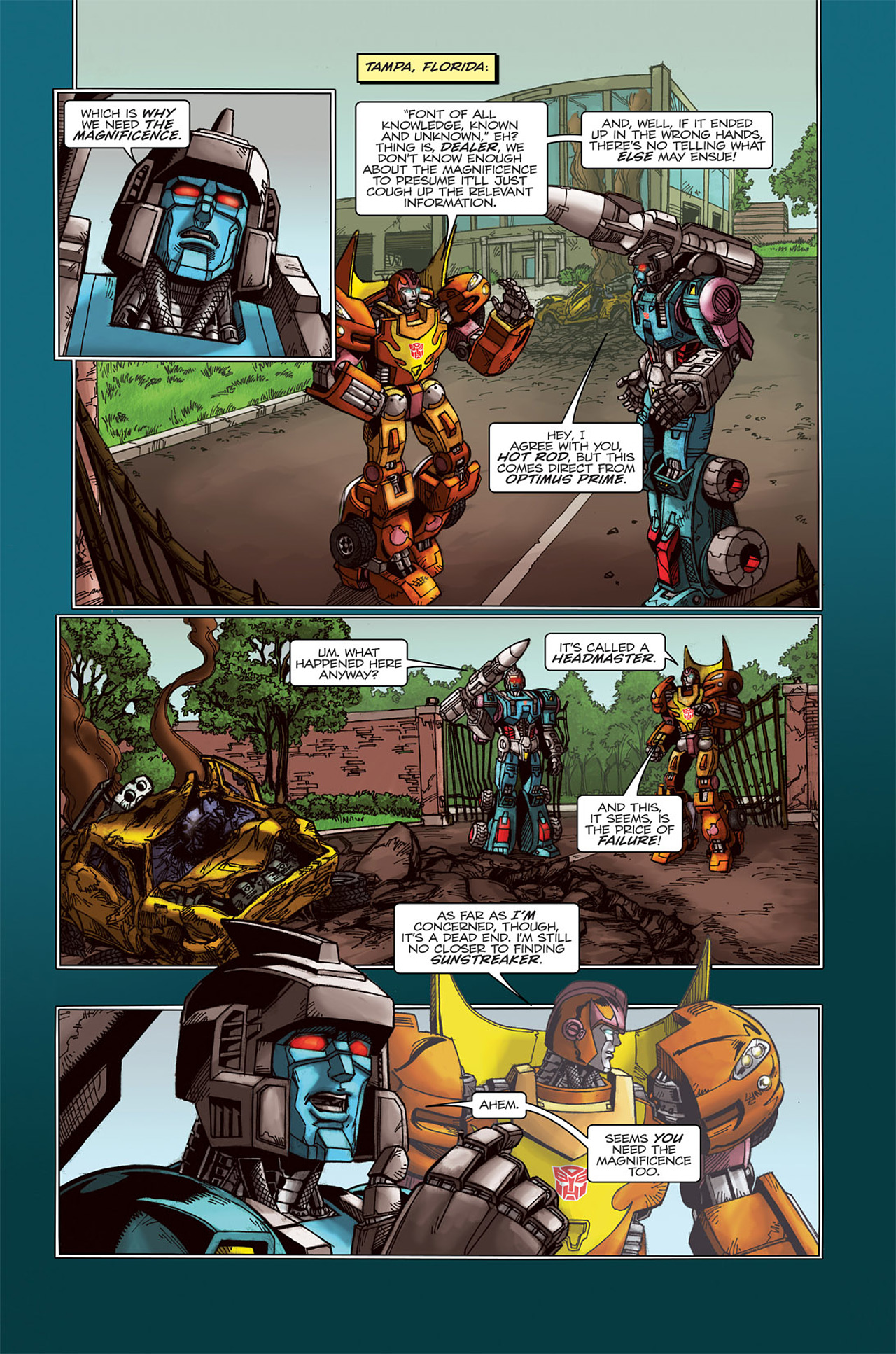Read online Transformers Spotlight: Doubledealer comic -  Issue # Full - 5