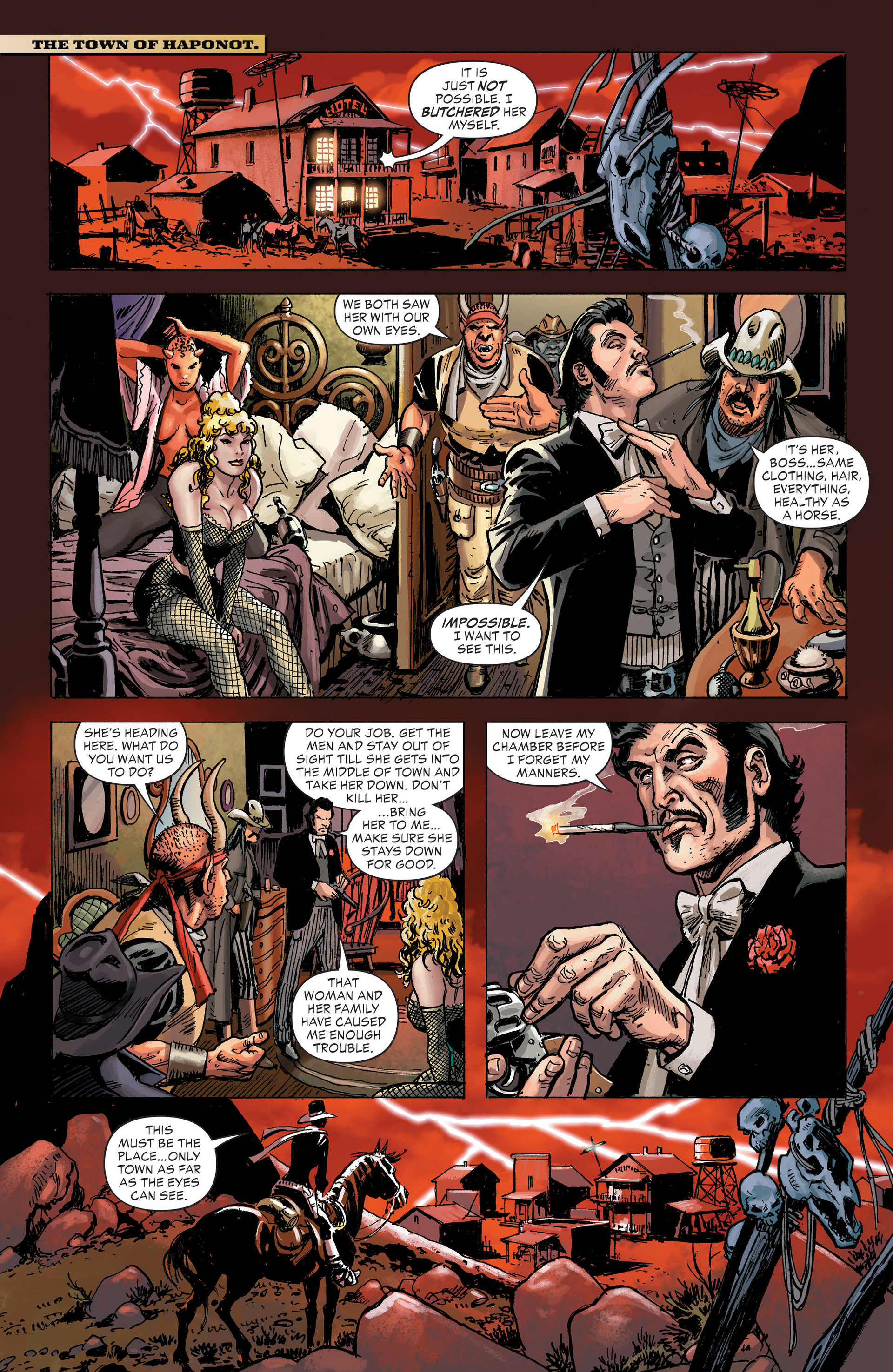 Read online All-Star Western (2011) comic -  Issue #31 - 19