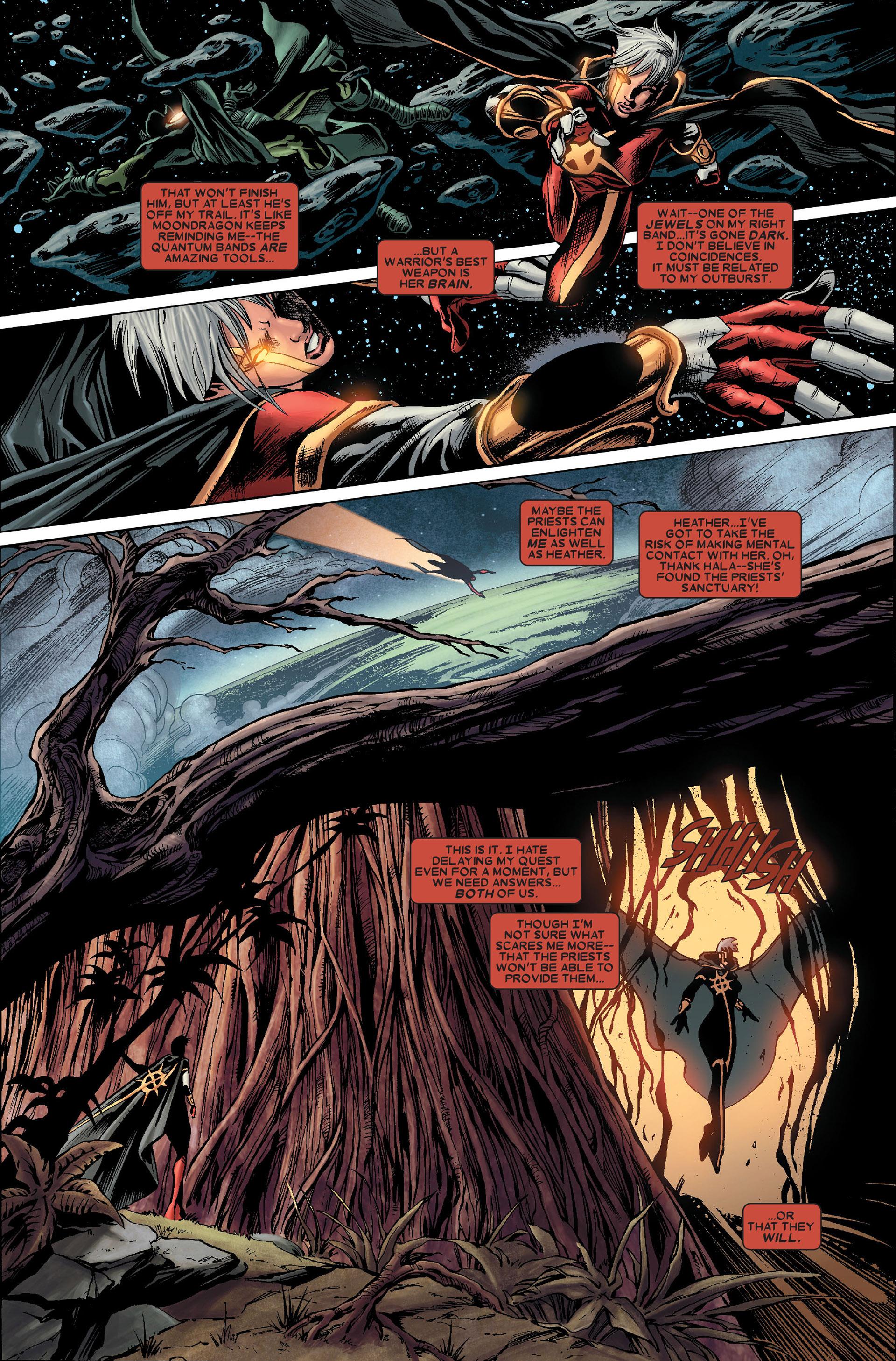 Read online Annihilation: Conquest - Quasar comic -  Issue #1 - 12
