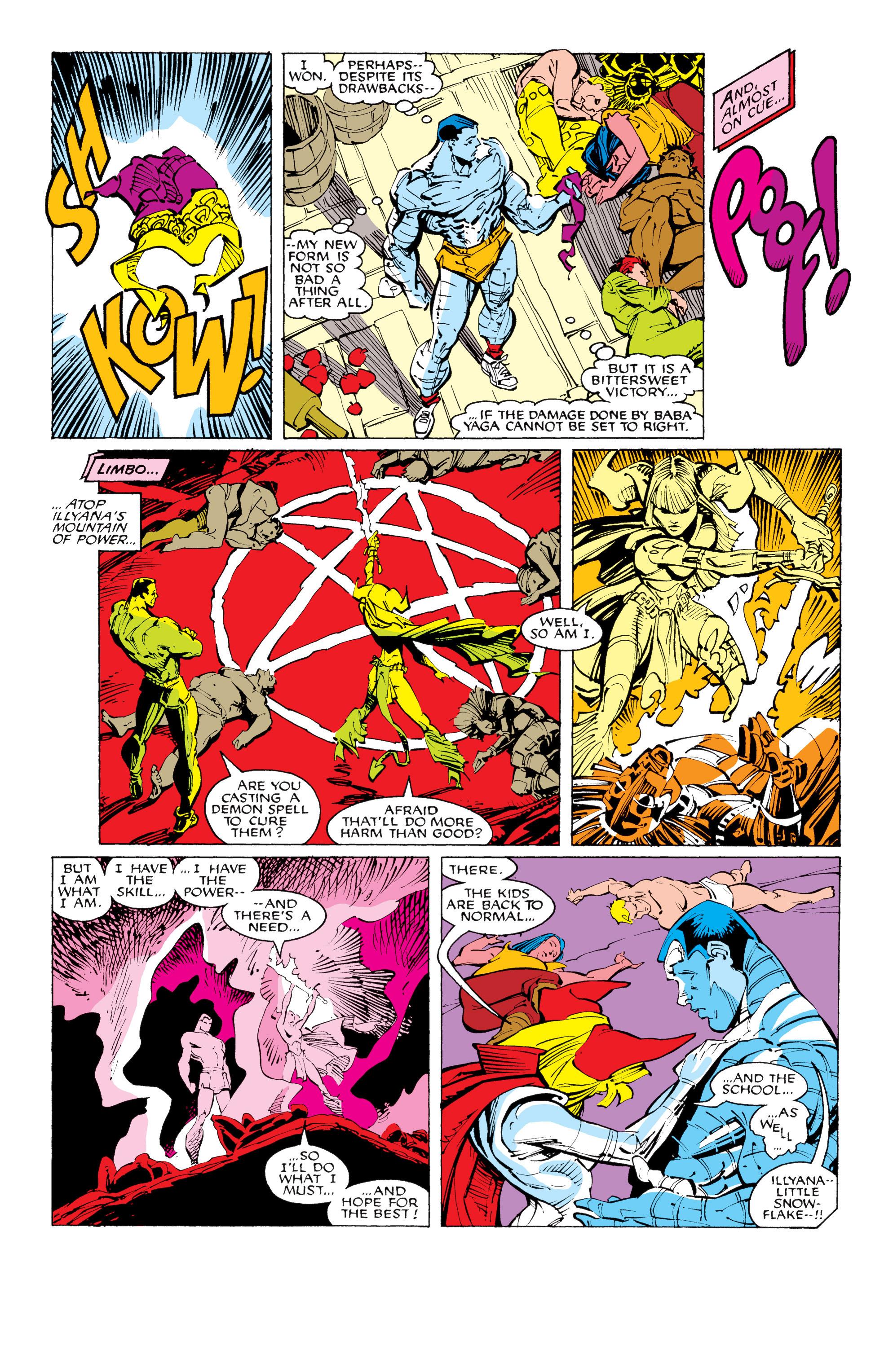 Read online Uncanny X-Men (1963) comic -  Issue #231 - 20