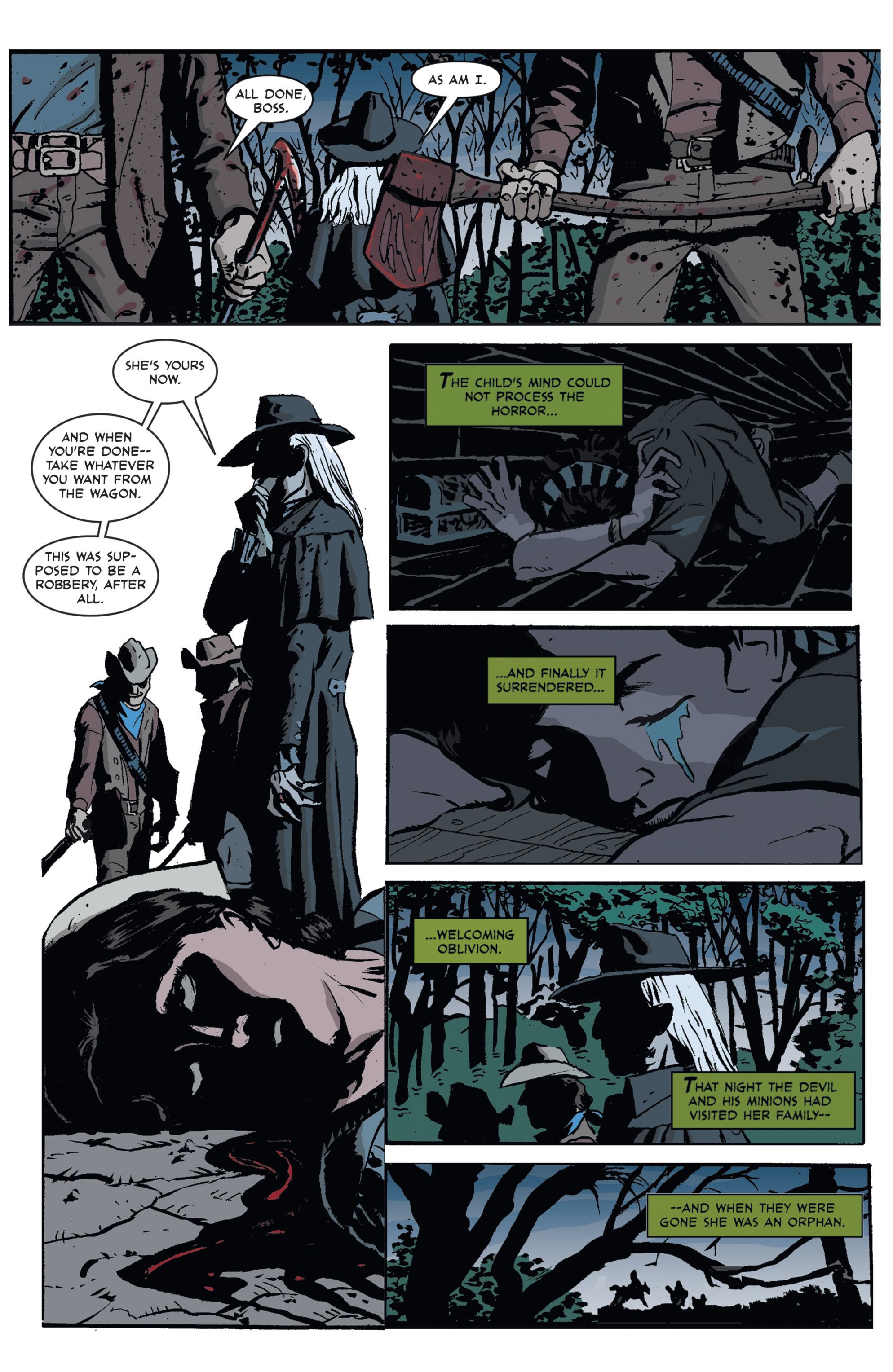 Read online 3 Devils comic -  Issue #1 - 13