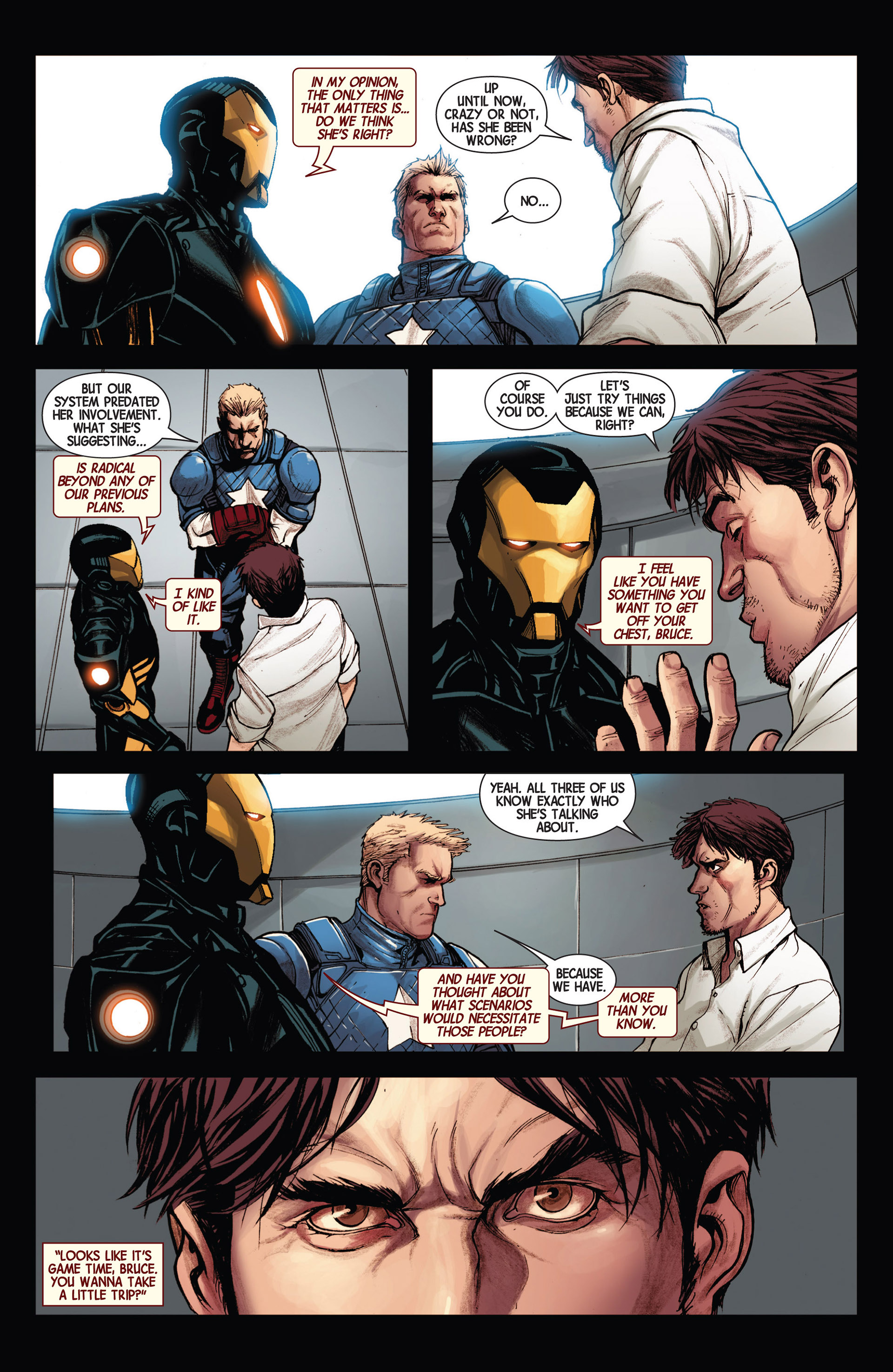 Read online Avengers (2013) comic -  Issue #17 - 16